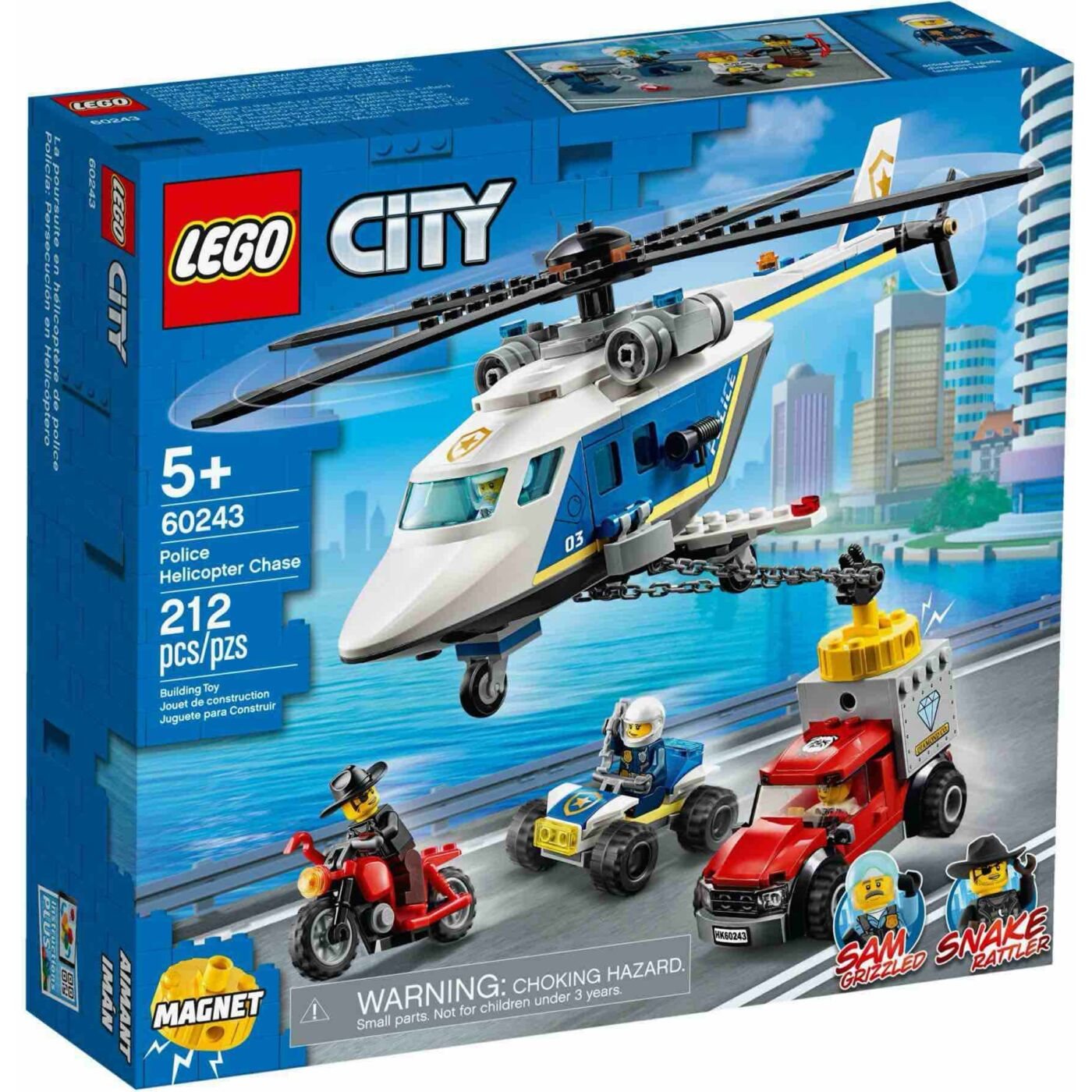 Lego City Rendőrségi helikopteres üldözés