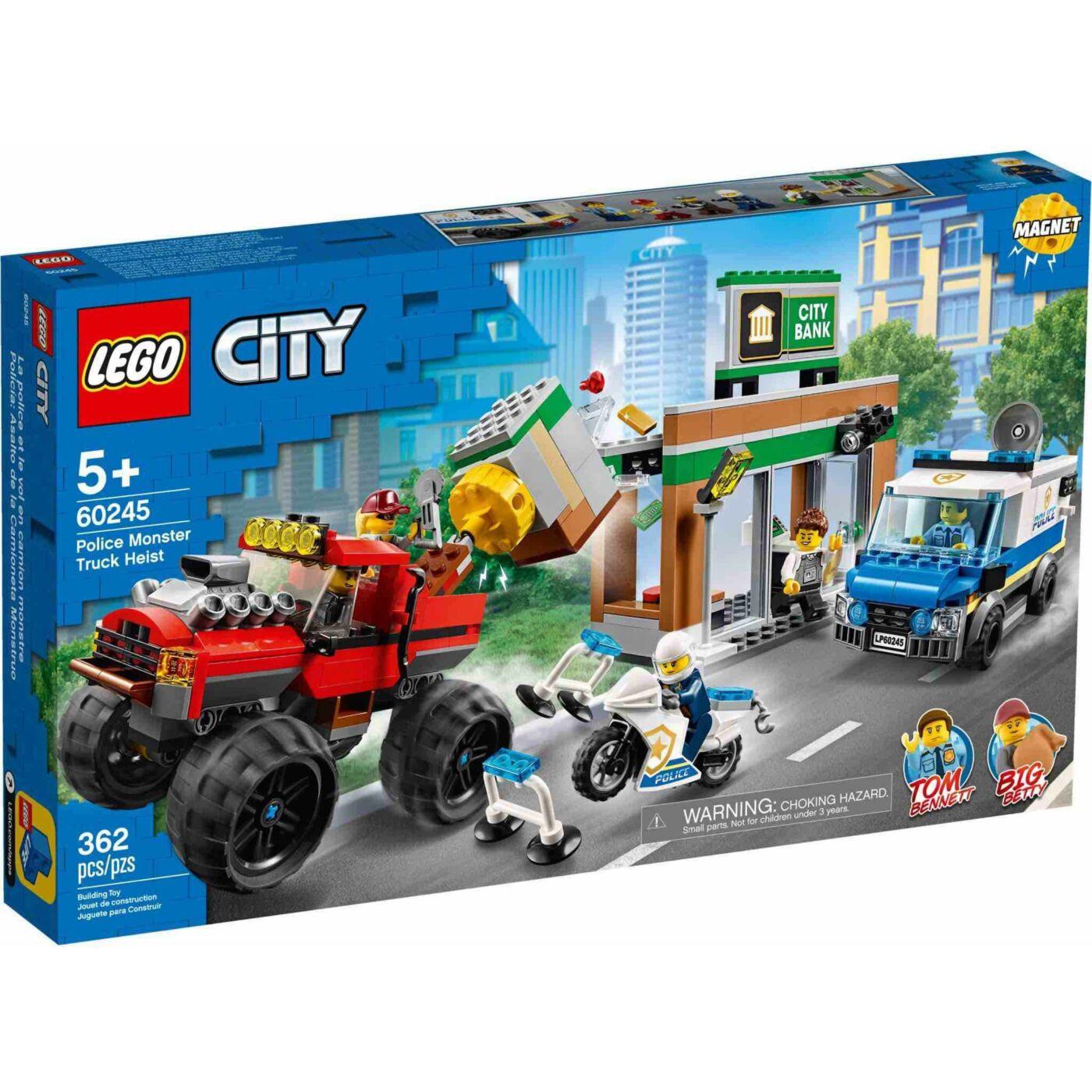 Lego City Rendőrségi teherautós rablás