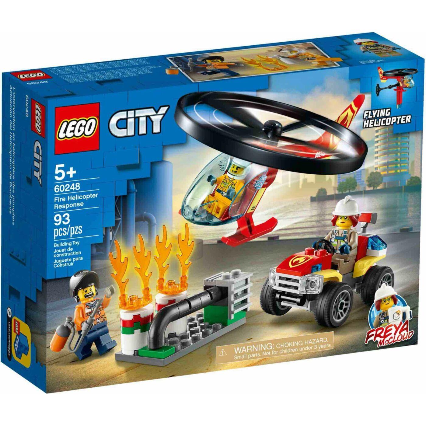 Lego City Sürgősségi tűzoltó helikopter
