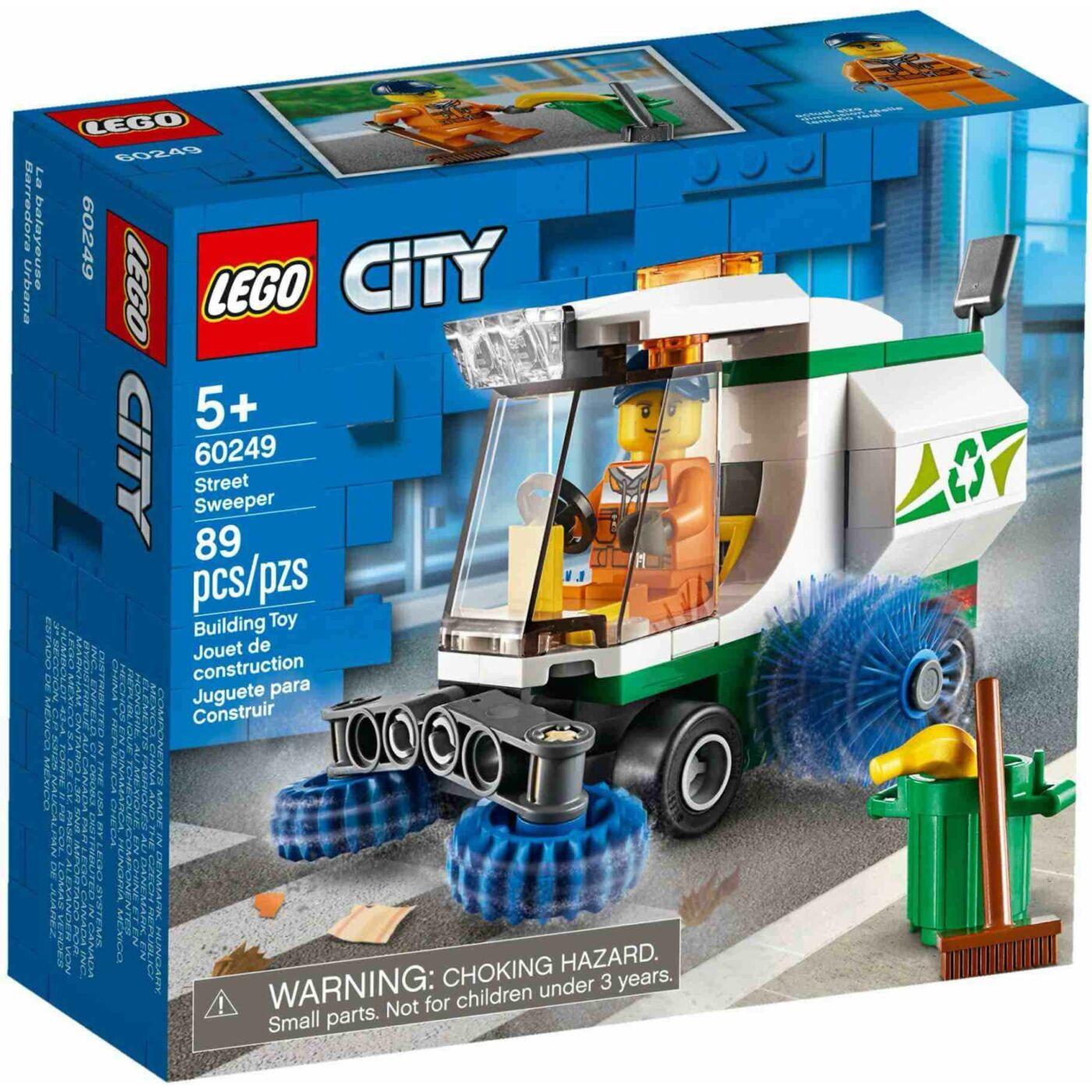Lego City Utcaseprő gép