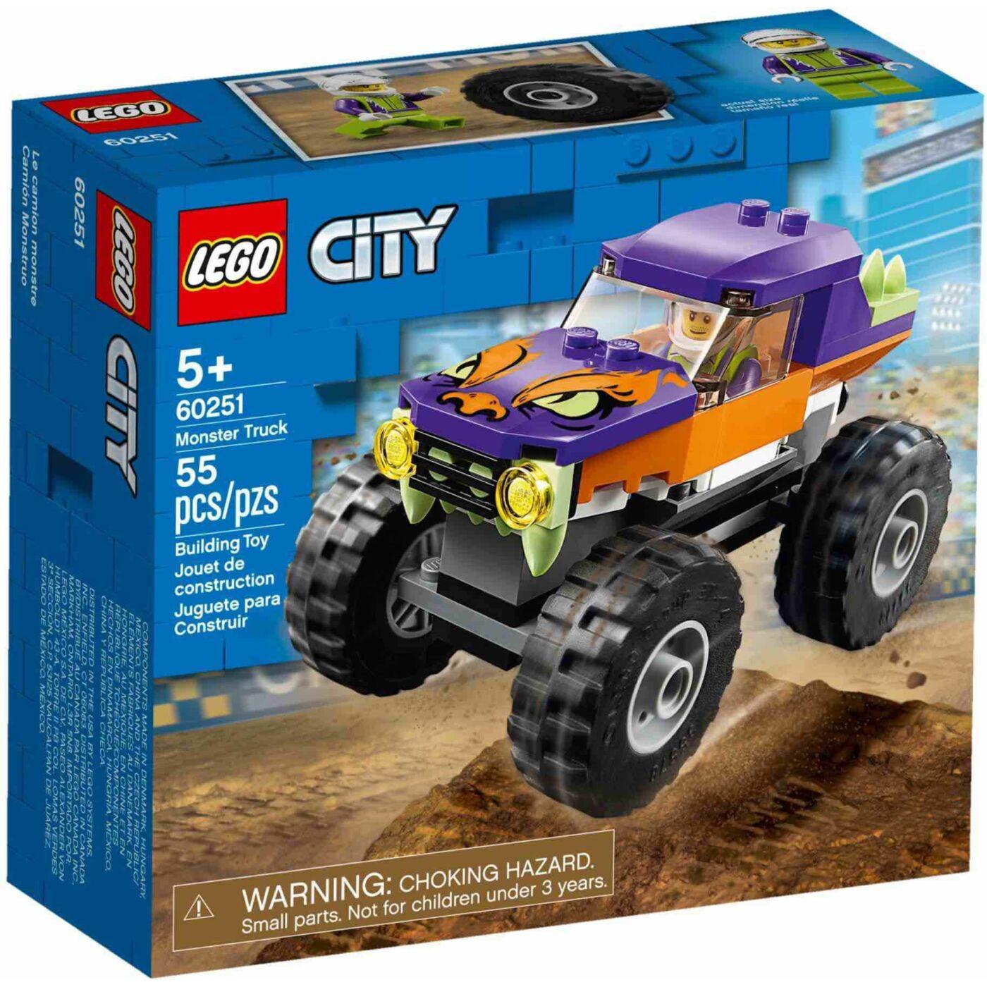 Lego City Óriás teherautó