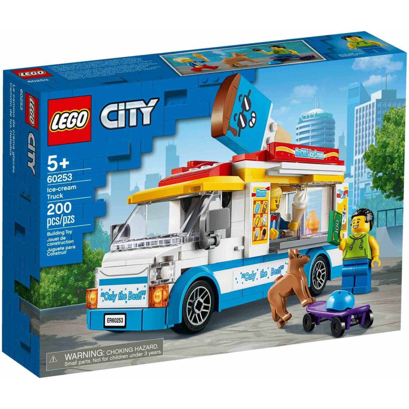 Lego City Fagylaltos kocsi