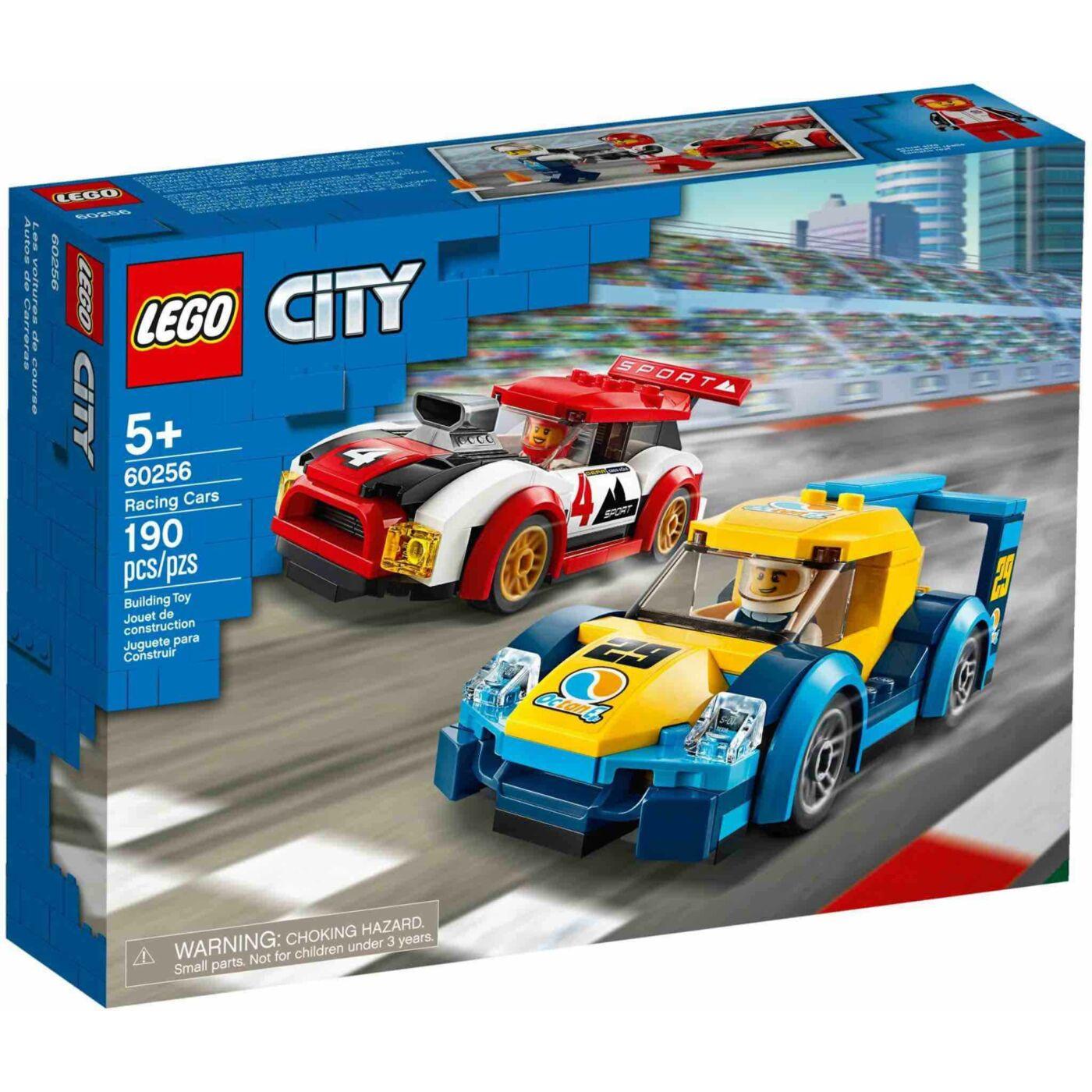 Lego City Versenyautók