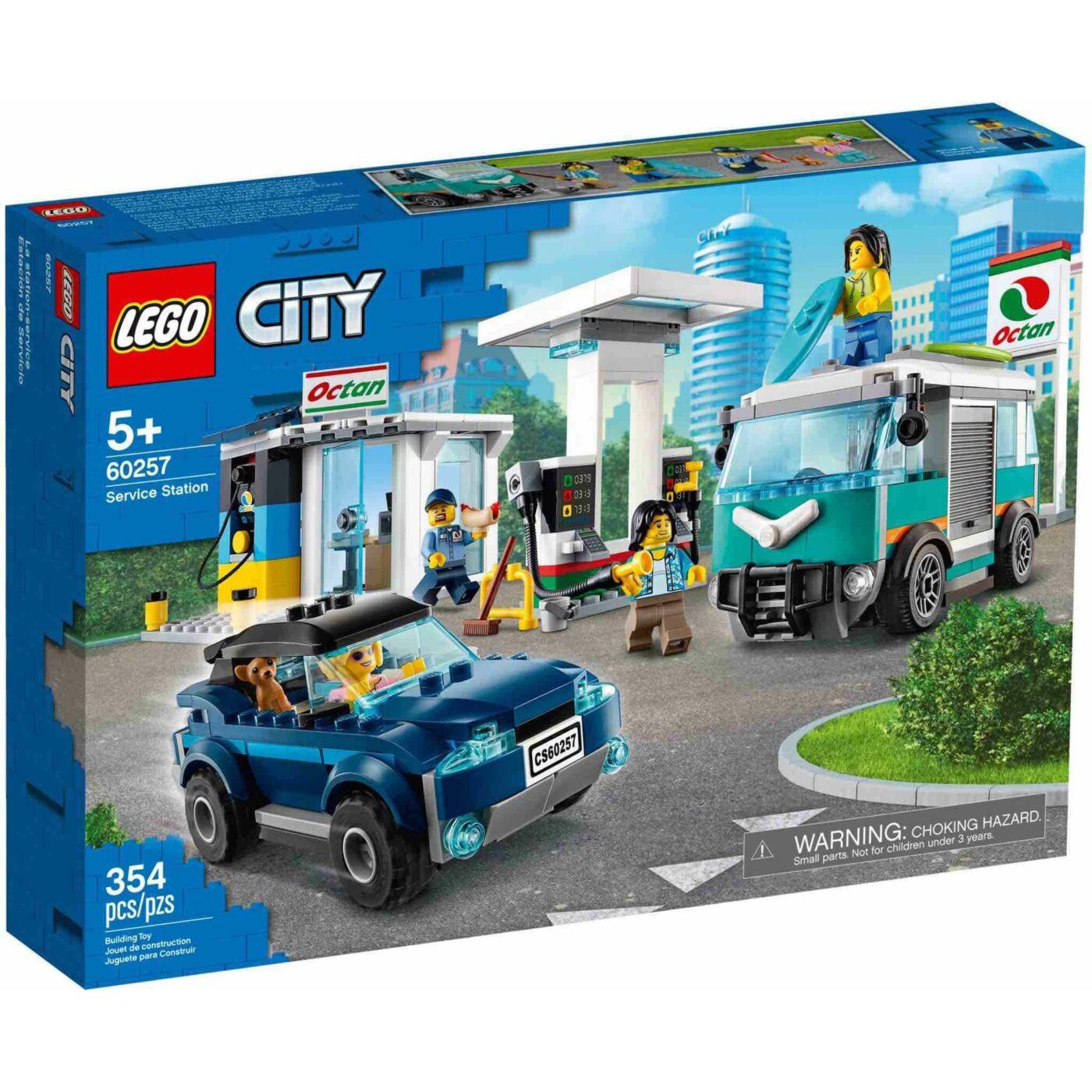 Lego City Benzinkút