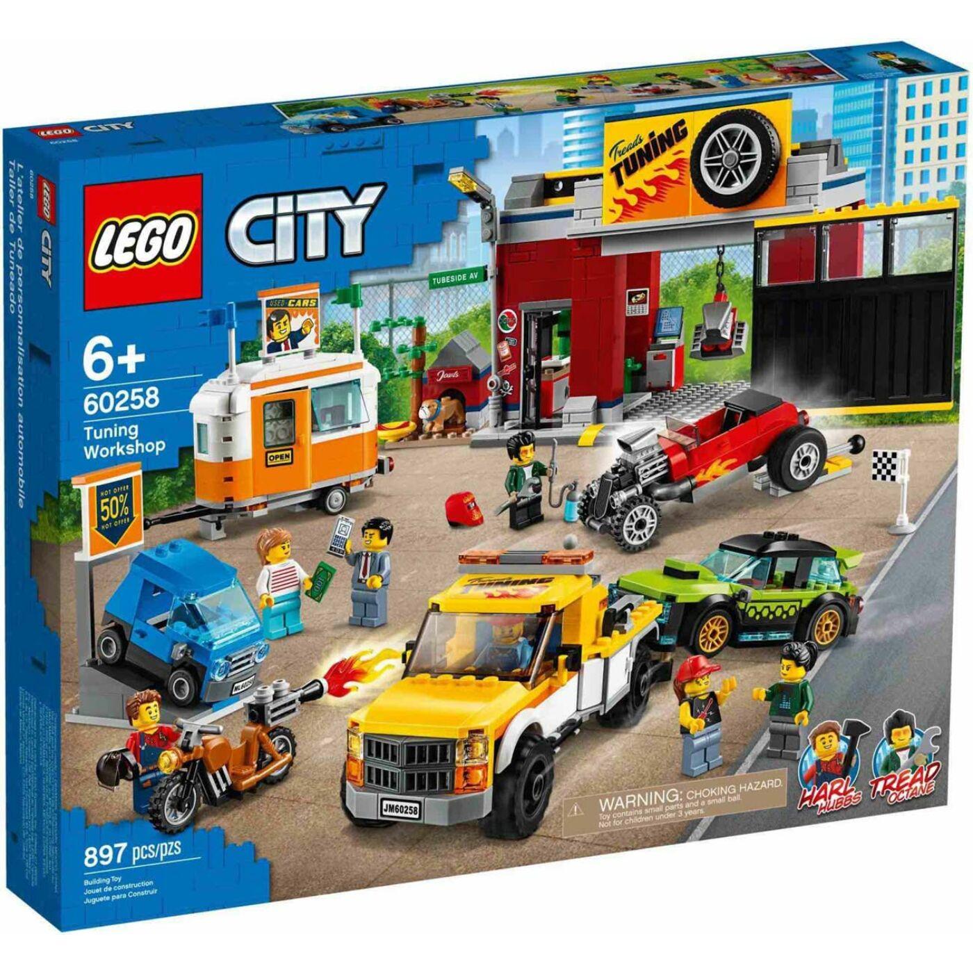 Lego City Szerelőműhely