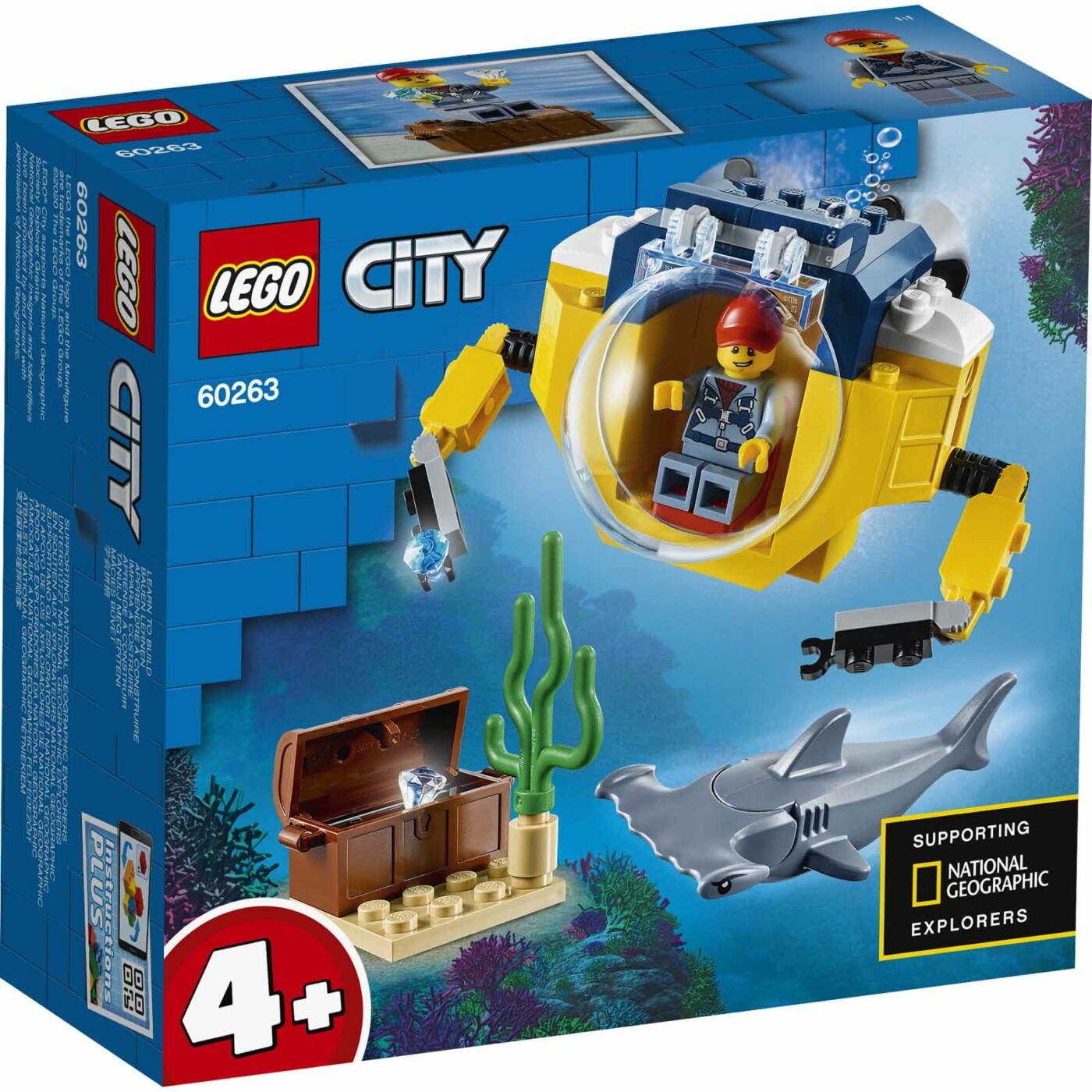 Lego City Óceáni mini tengeralattjáró