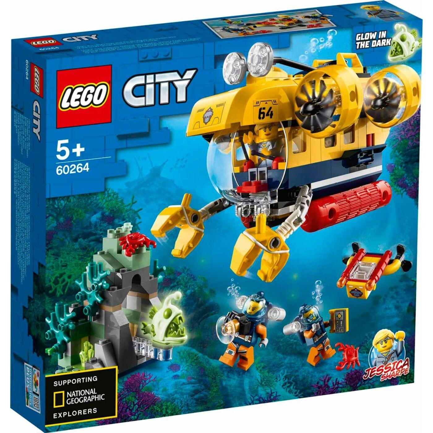 Lego City Óceáni kutató tengeralattjáró