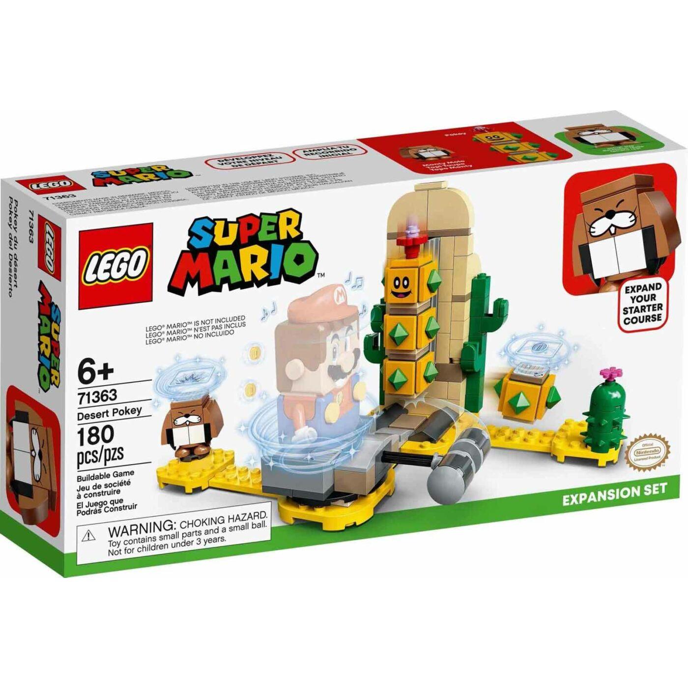 Lego Super Mario Sivatagi Pokey kiegészítő szett