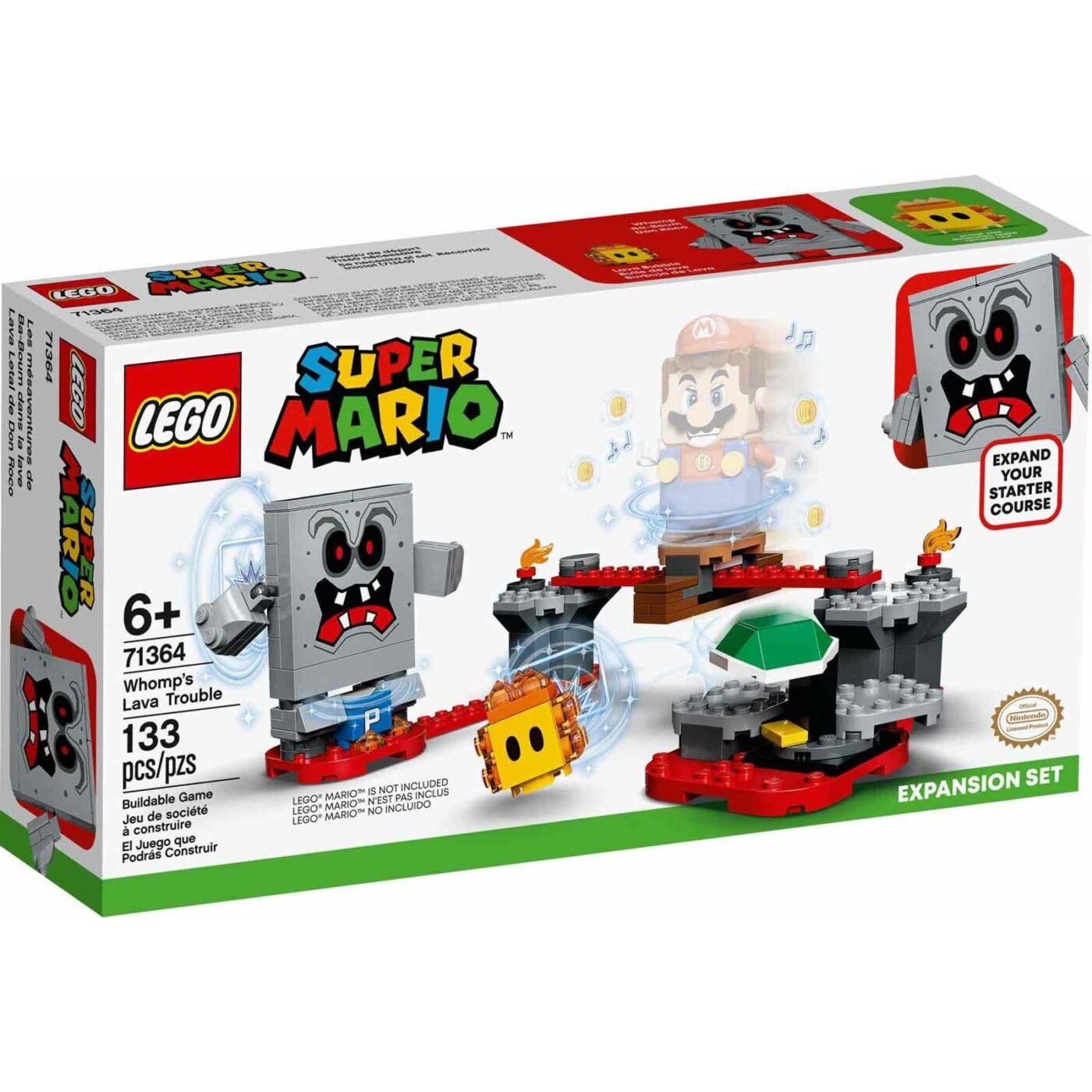 Lego Super Mario Whomp lávagalibája kiegészítő szett