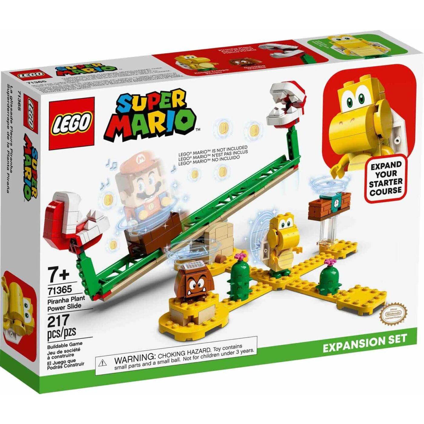 Lego Super Mario A Piranha növény evőcsúszdája kiegészítő szett