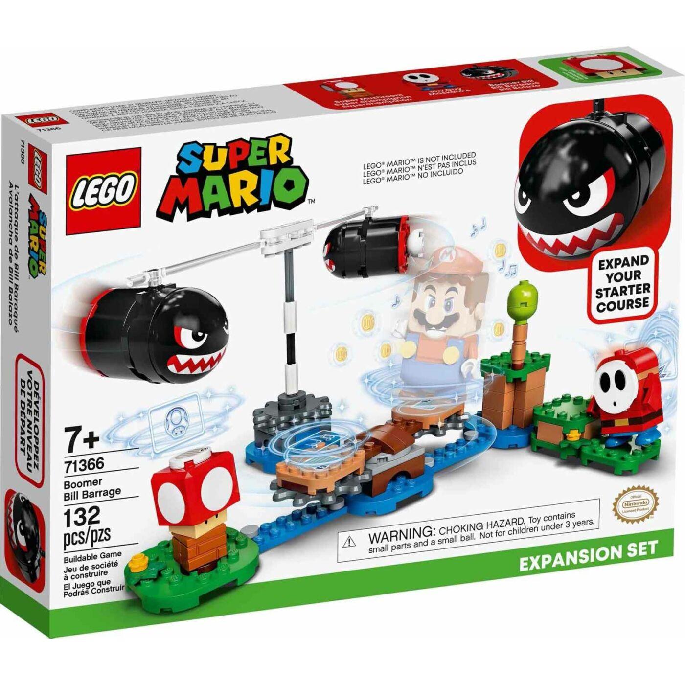 Lego Super Mario Boomer Bill gát kiegészítő szett
