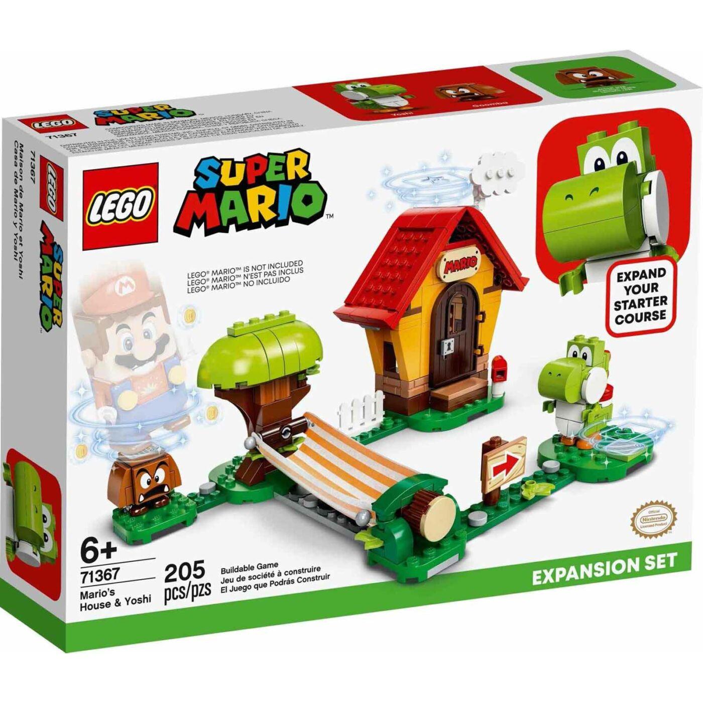 Lego Super Mario Mario háza & Yoshi kiegésztő szett