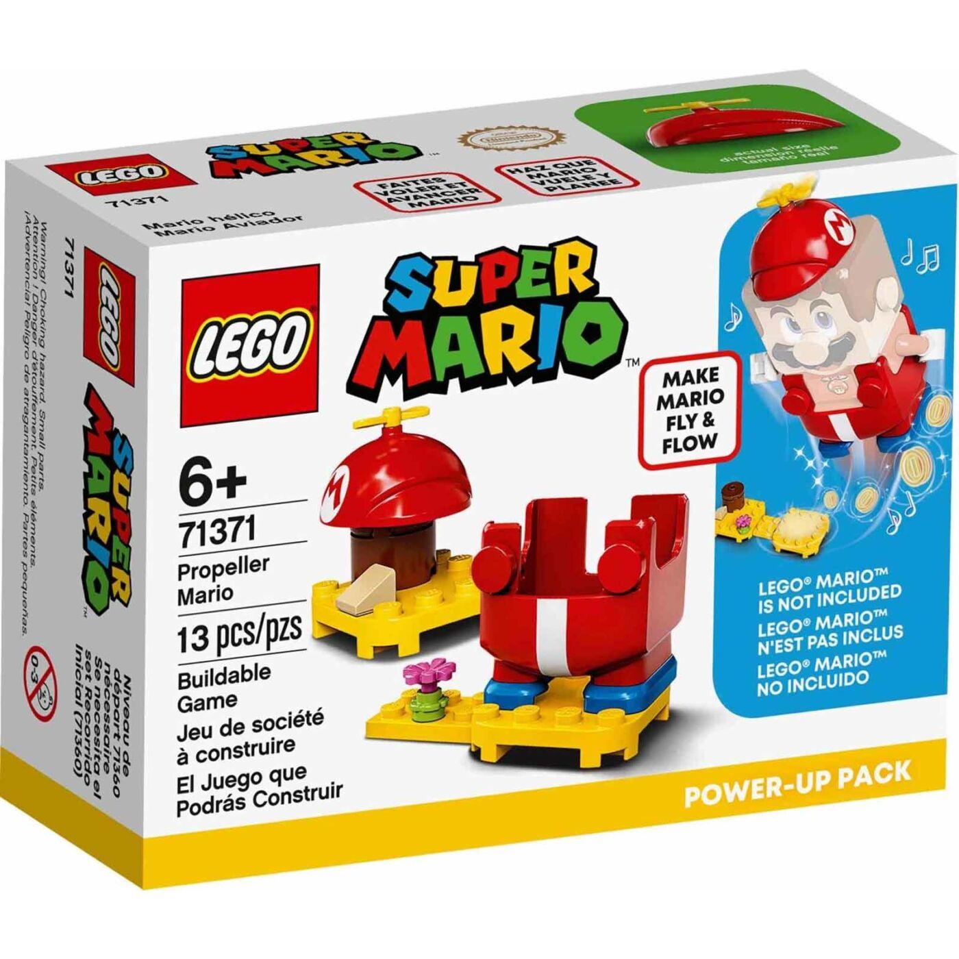 Lego Super Mario Propeller Mario szupererő csomag