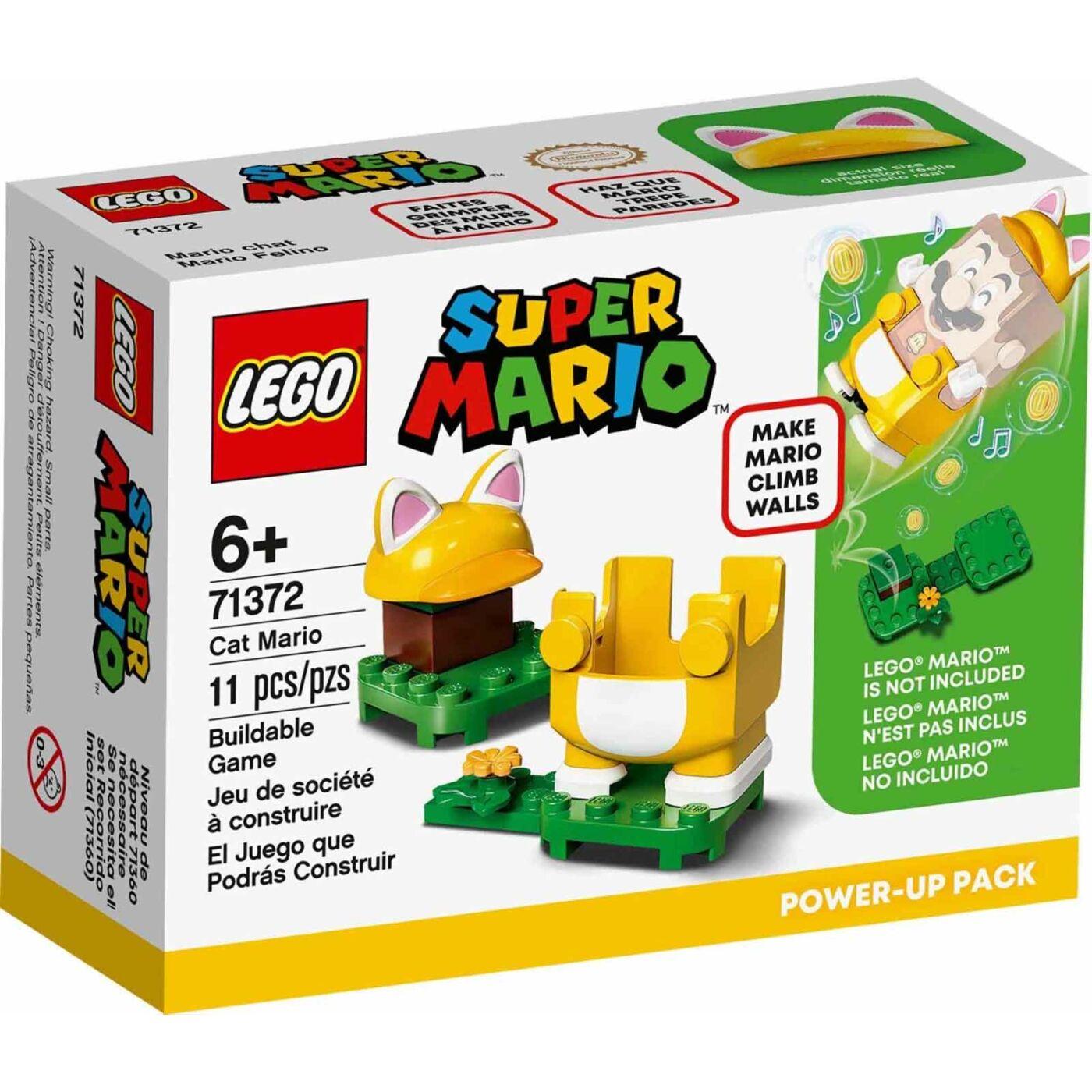 Lego Super Mario Cat Mario szupererő csomag
