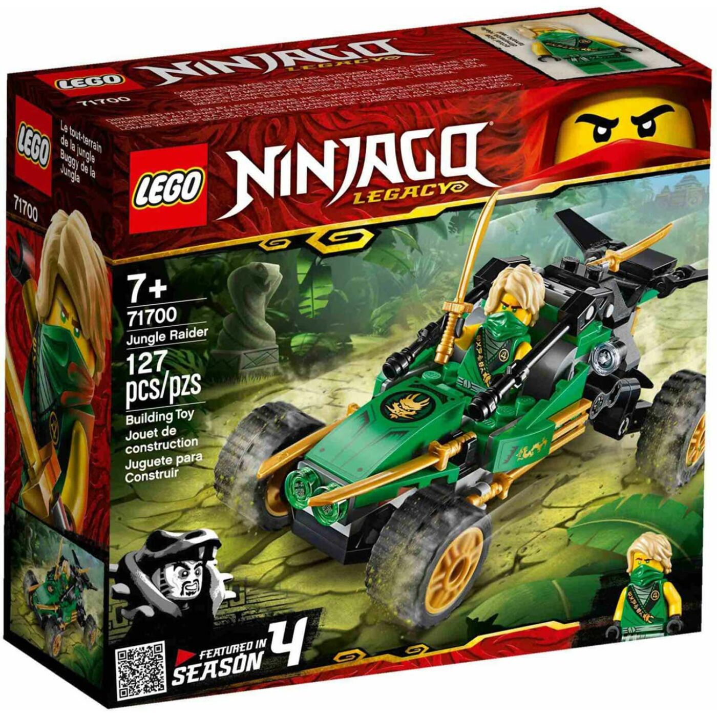 Lego Ninjago Dzsungeljáró