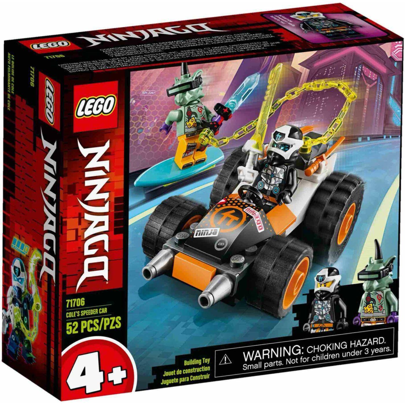 Lego Ninjago Cole speedere