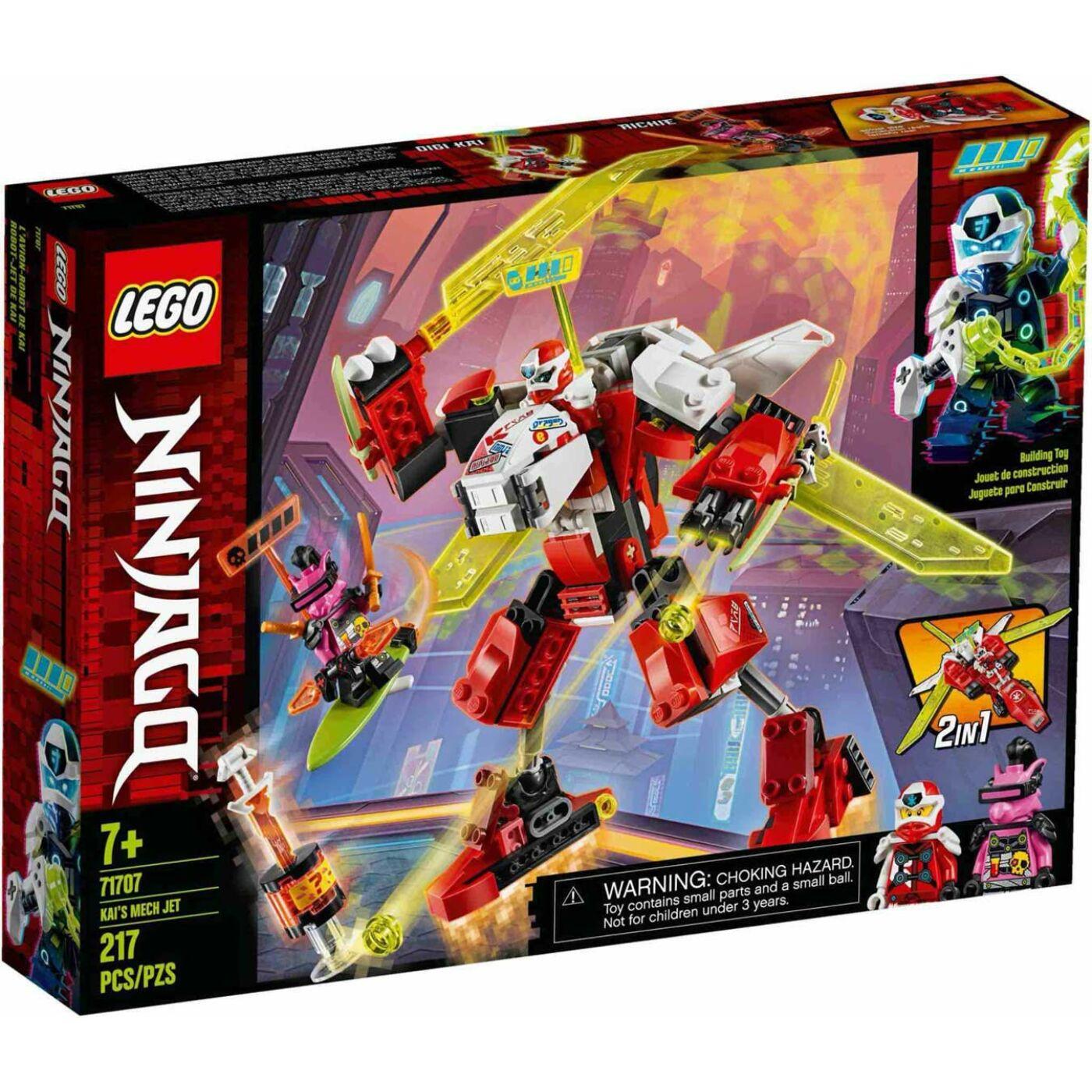 Lego Ninjago Kai sugárhajtású robotja