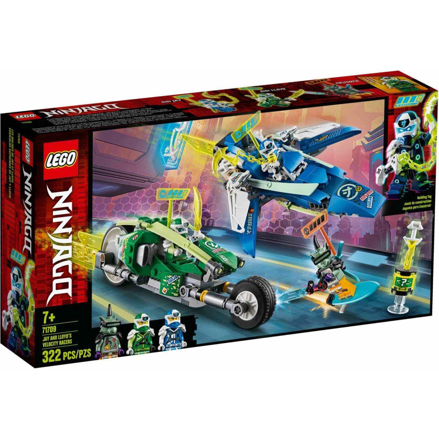 Lego Ninjago Jay és Lloyd versenyjárművel
