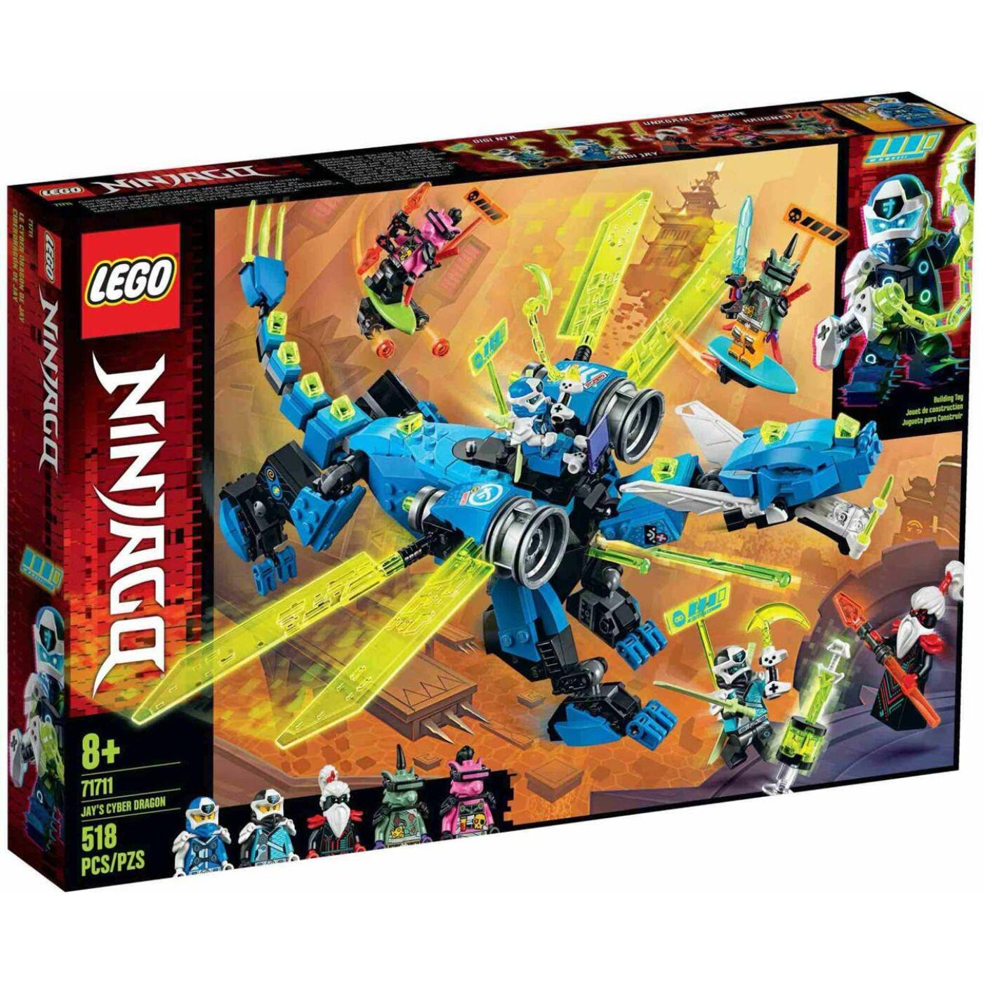 Lego Ninjago Jay kibersárkánya