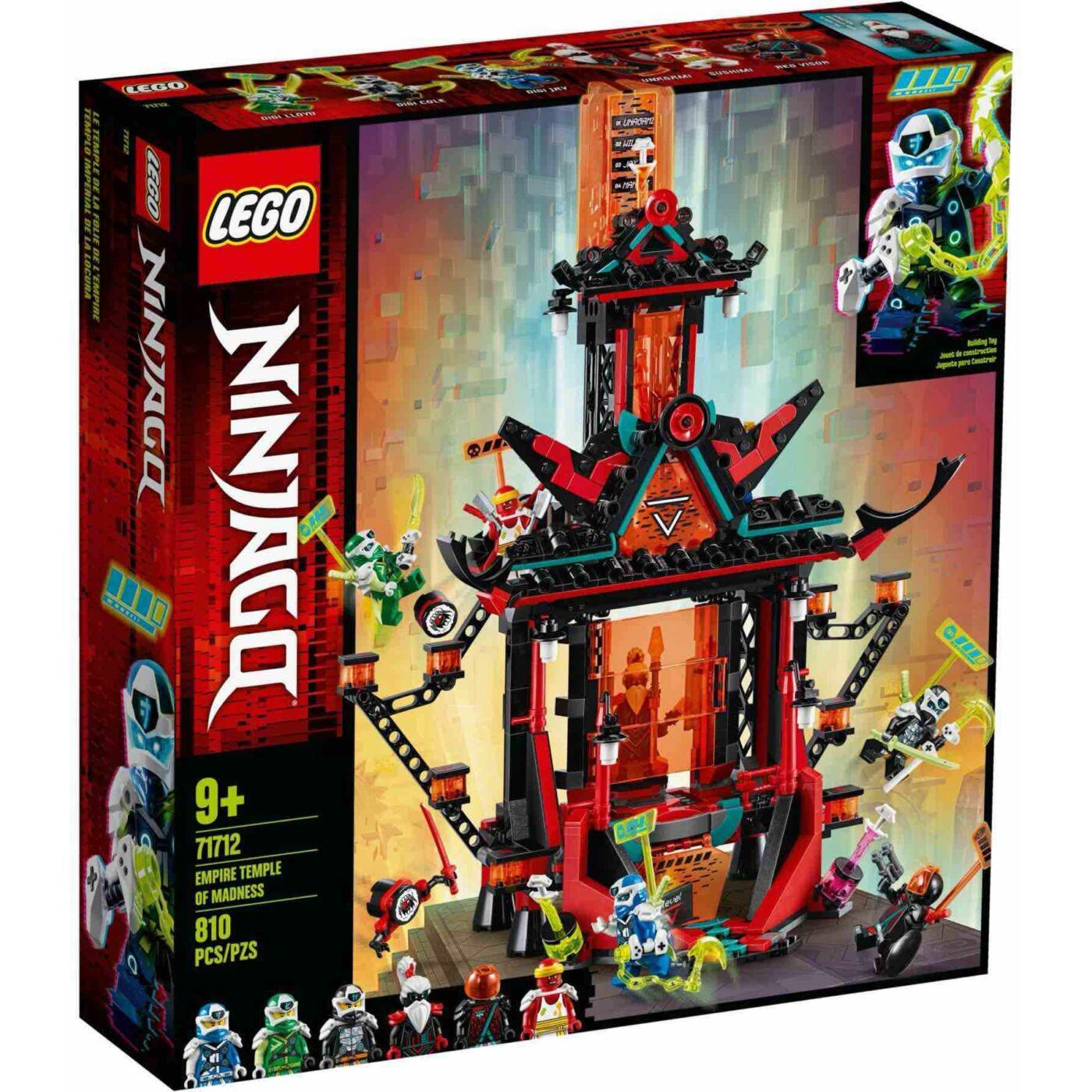 Lego Ninjago Az őrült birodalom temploma