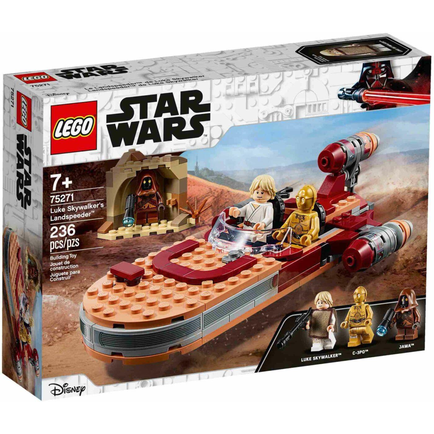 Lego Star Wars Luke Skywalker landspeedere