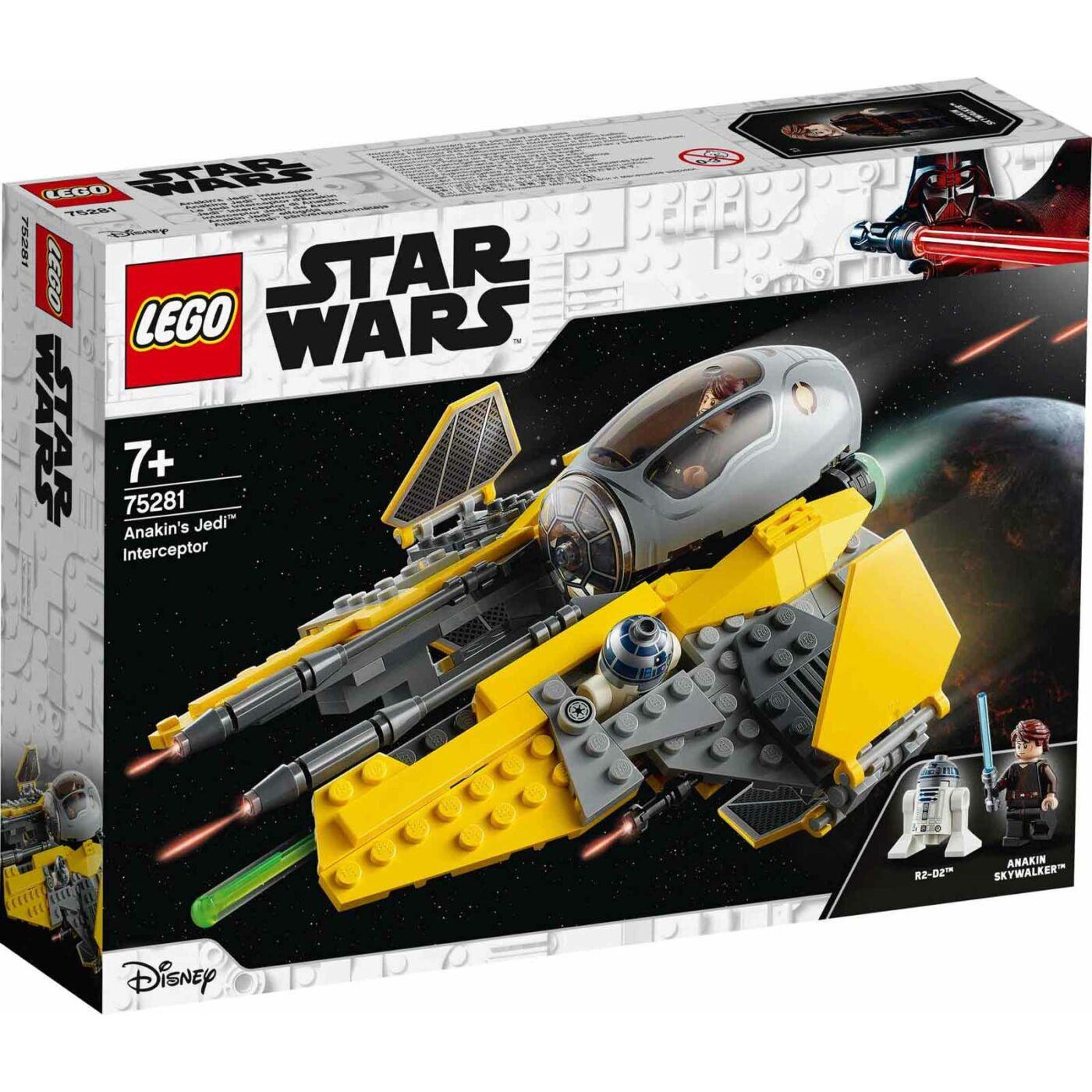 Lego Star Wars Anakin Jedi vadászgépe