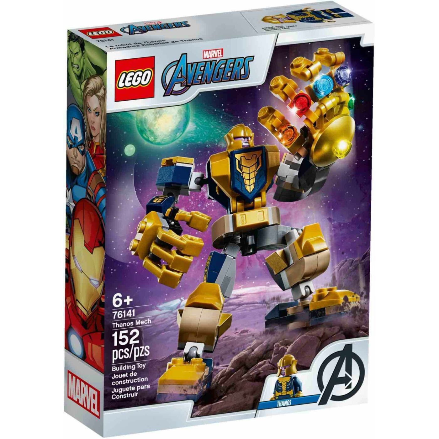Lego Super Heroesn Thanos robot