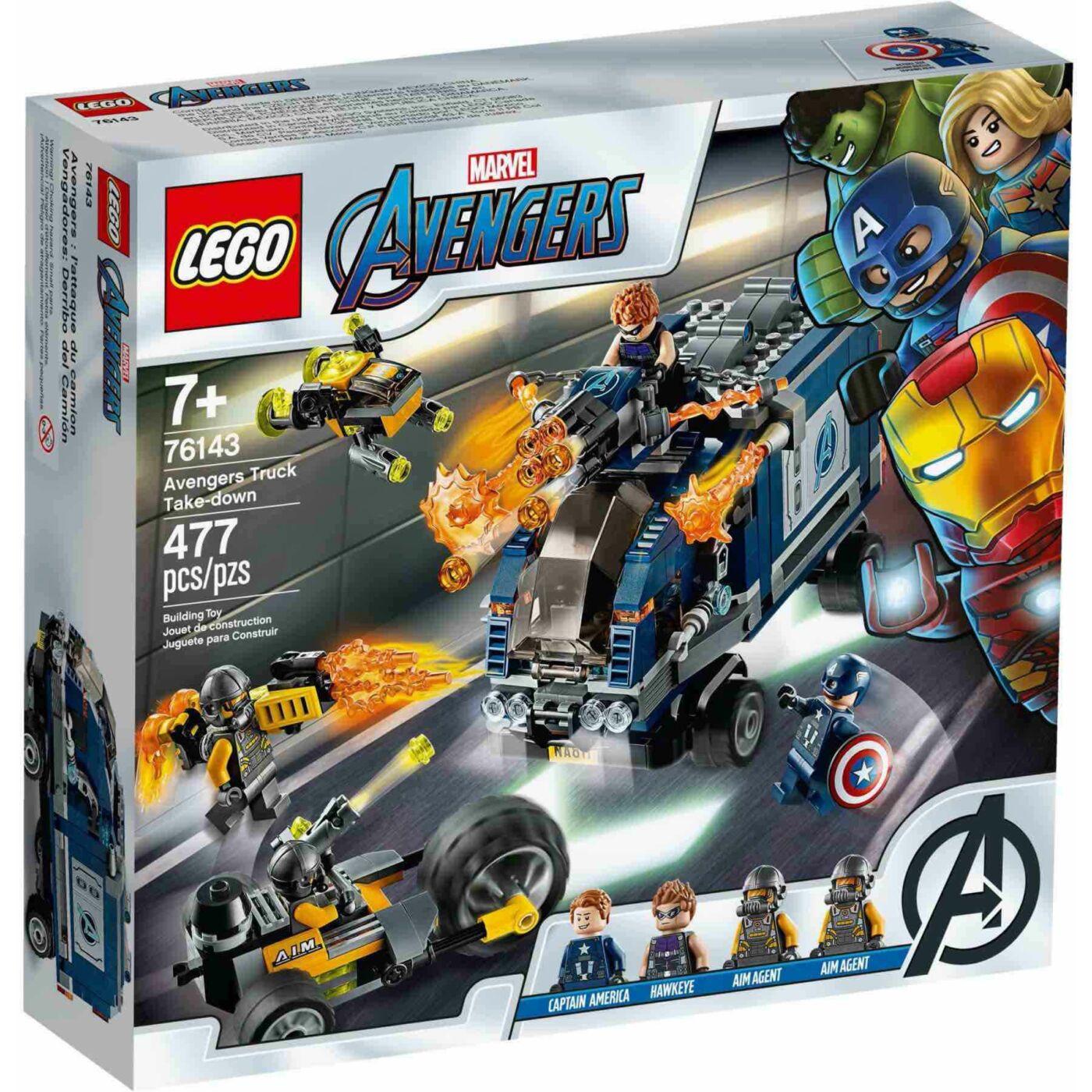 Lego Super Heroes Bosszúállók teherautós üldözés