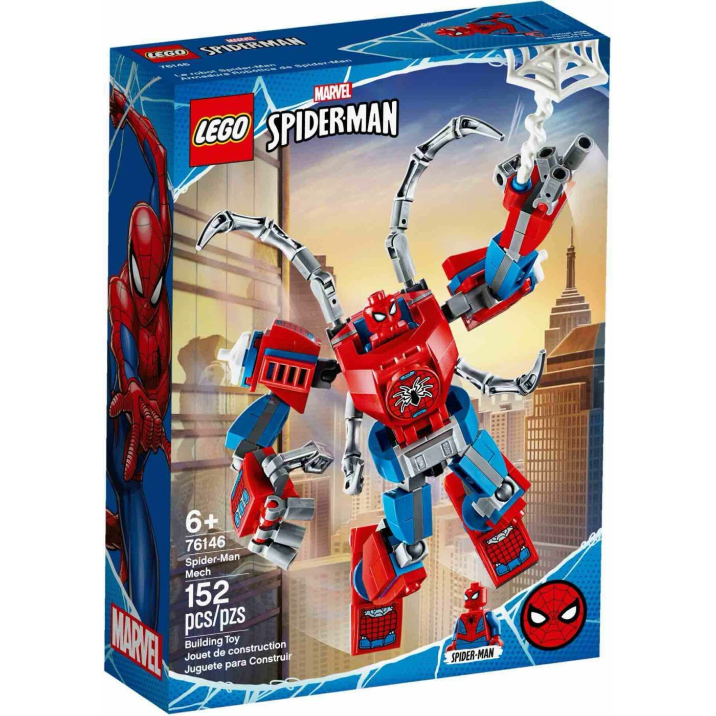 Lego Super Heroes Pókember robot