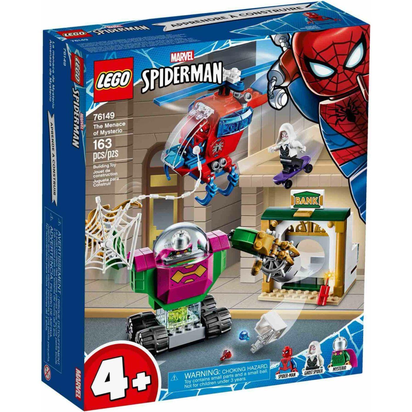Lego Super Heroes Mysterio tombolása