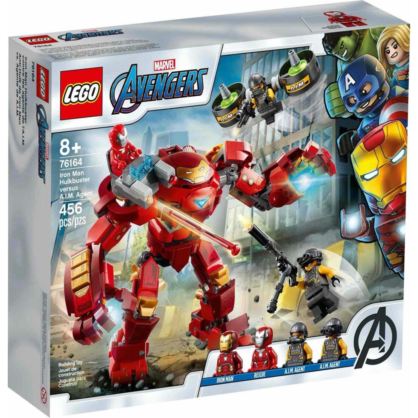 Lego Super Heroes Vasember Hulkbuster az A.I.M ügynök ellen