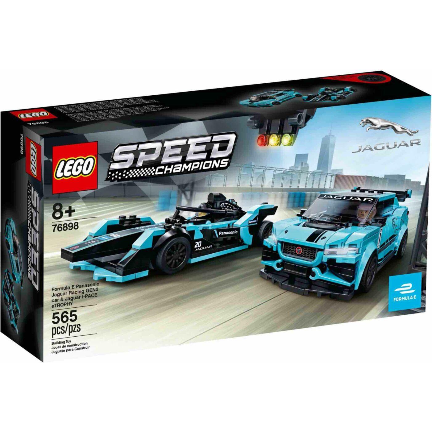 Lego Speed Champions Formula E Jaguar racing