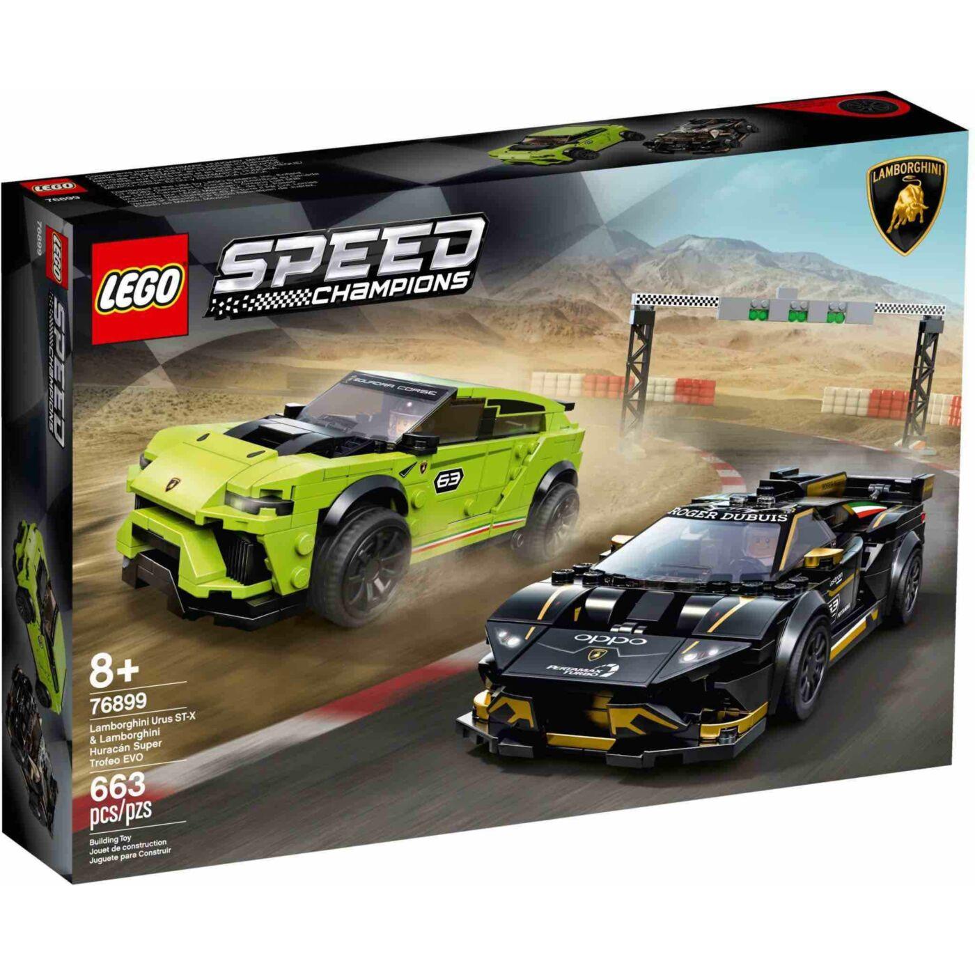 Lego Speed Chamions Lamborghini Urus és Huracán