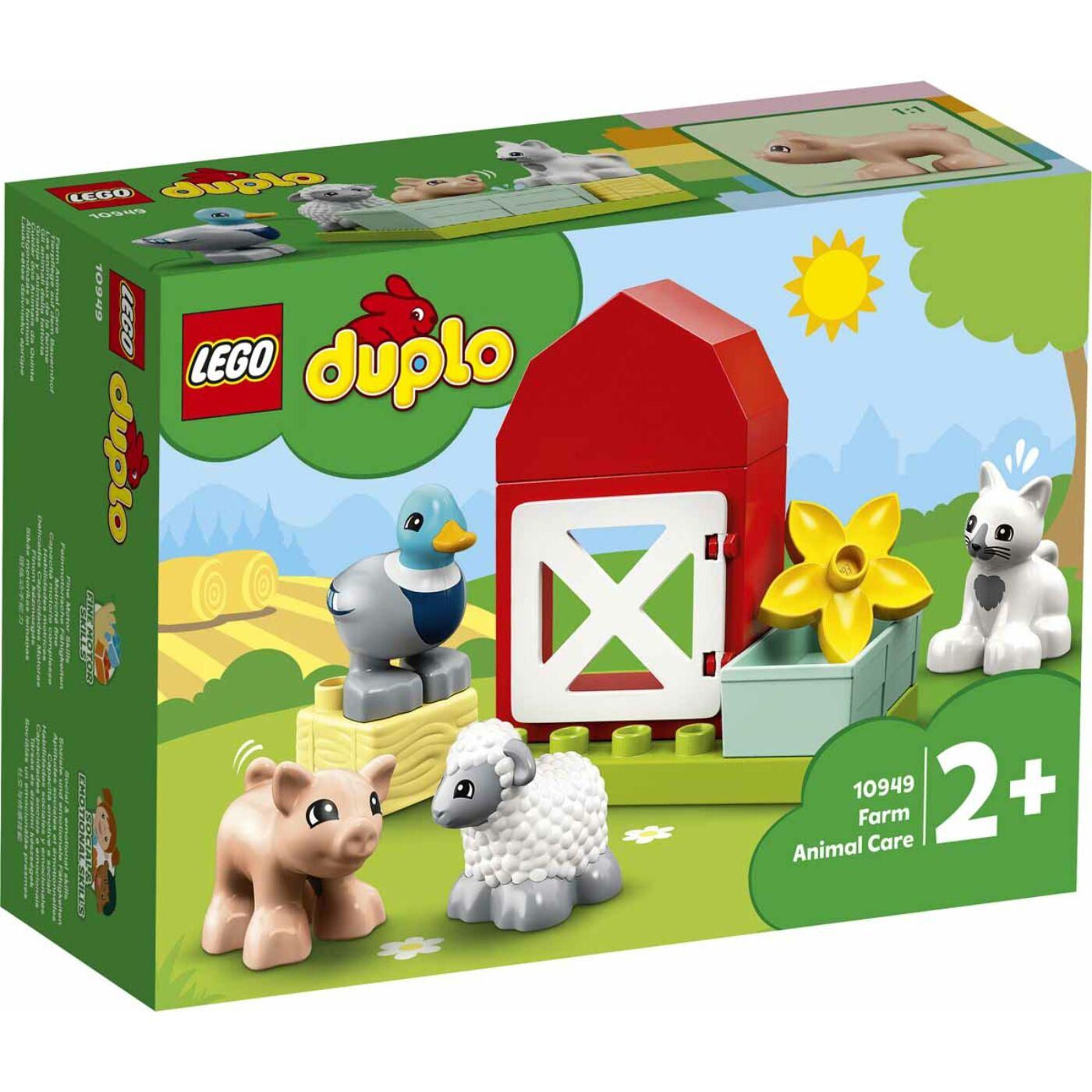 Lego Duplo Állatgondozás a farmon