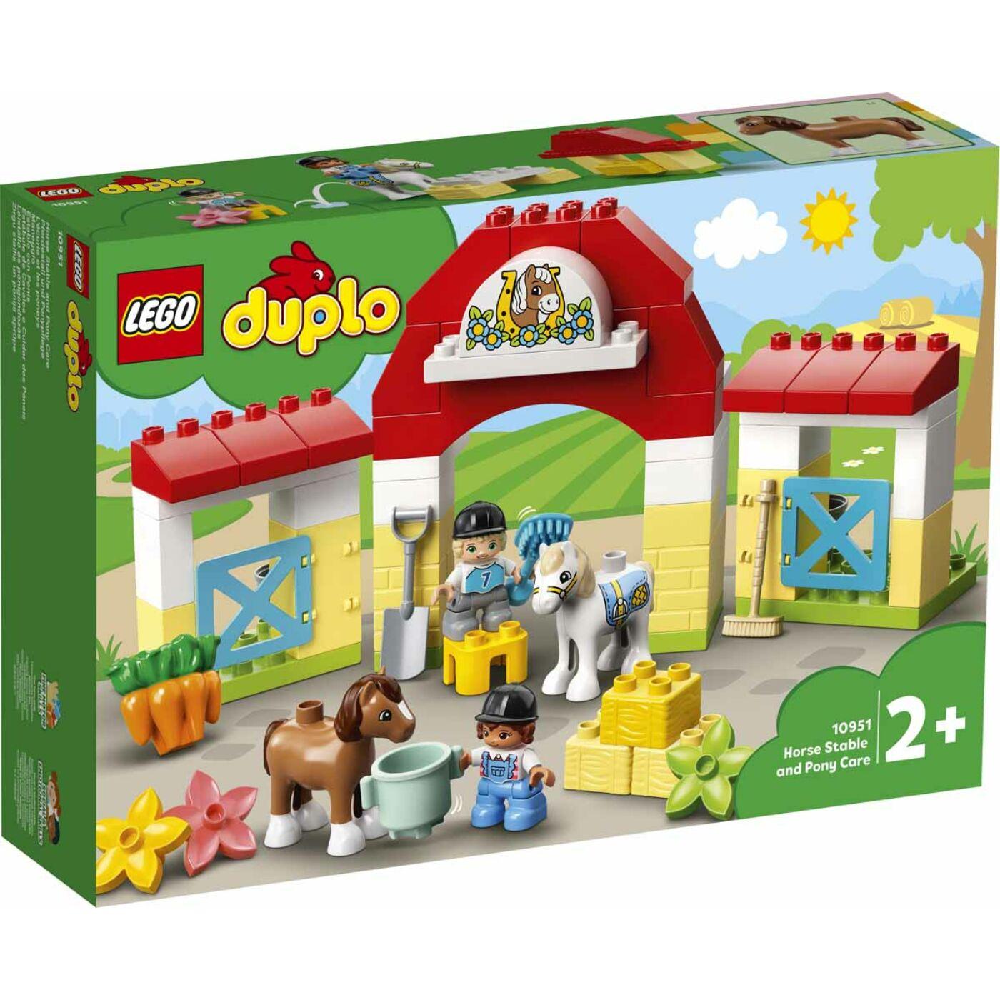 Lego Duplo Lóistálló és pónigondozás