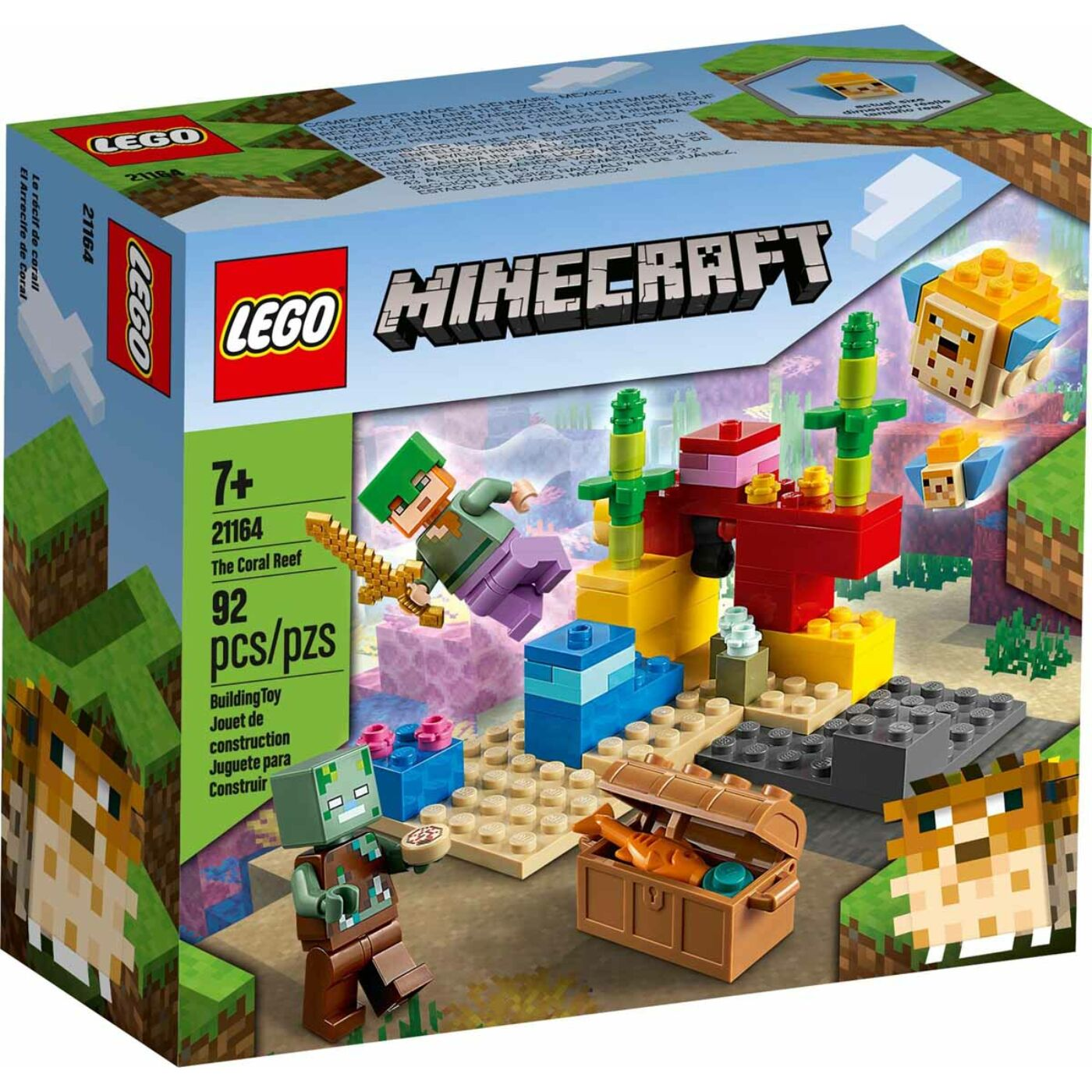 Lego Minecraft A korallzátony