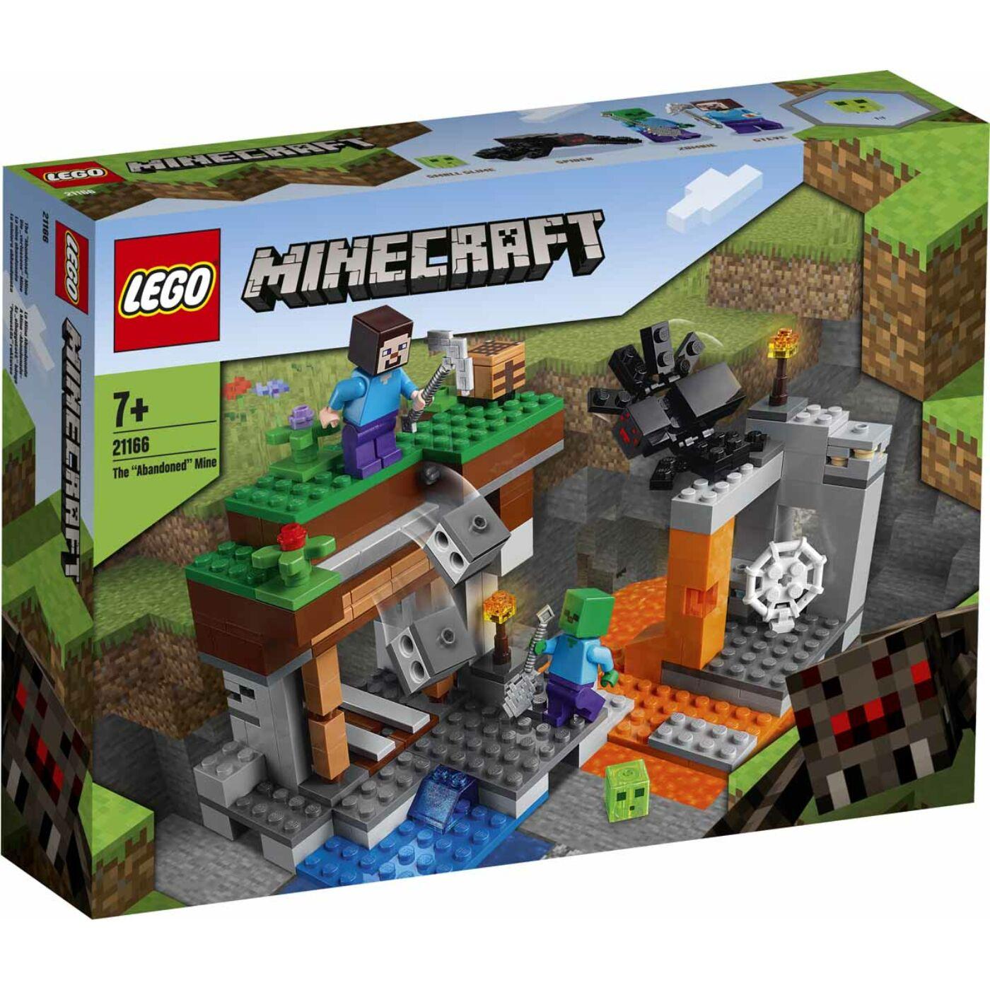 Lego Minecraft Az elhagyatott bánya