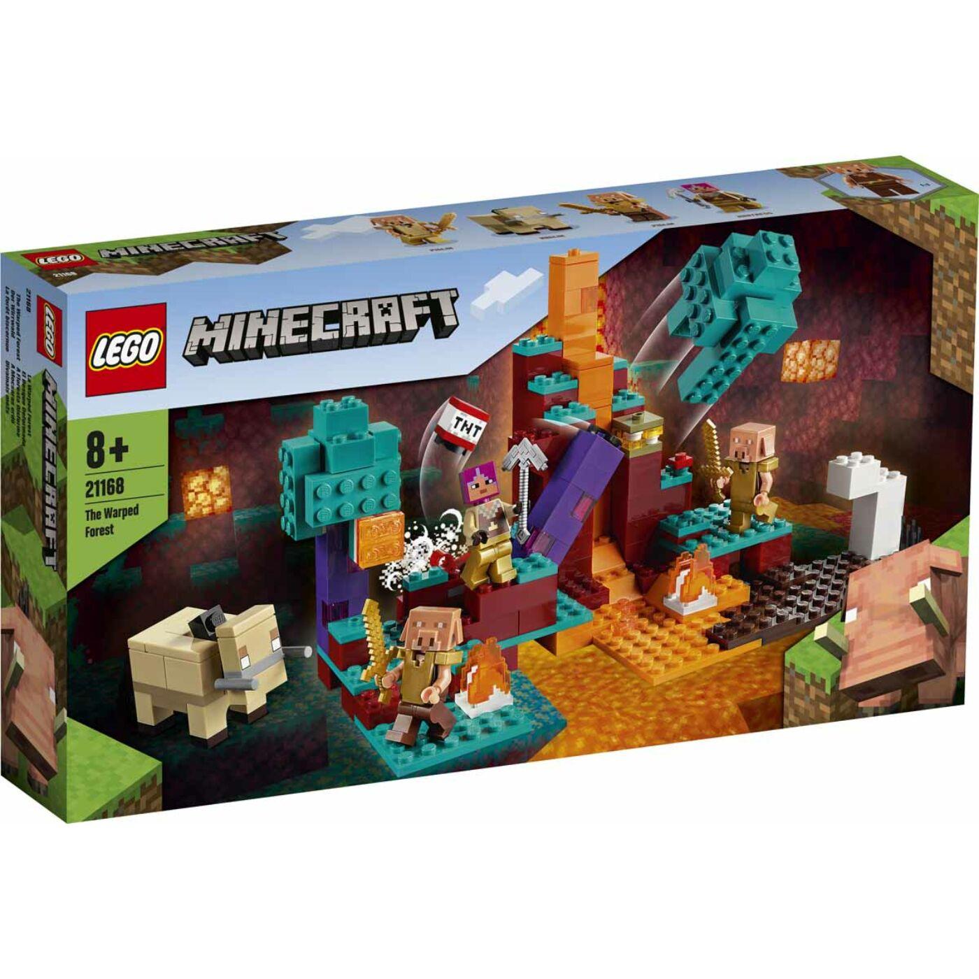 Lego Minecraft A mocsaras erdő