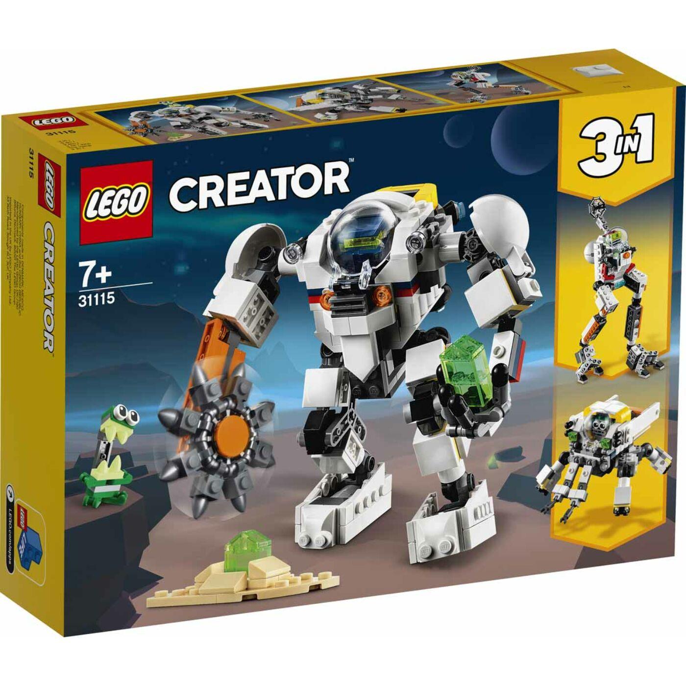 Lego Creator Űrbányászati robot