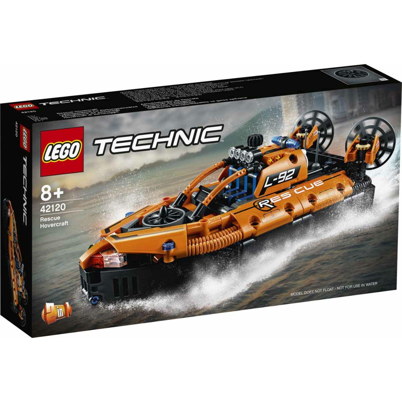 Lego Technic Légpárnás mentőjármű