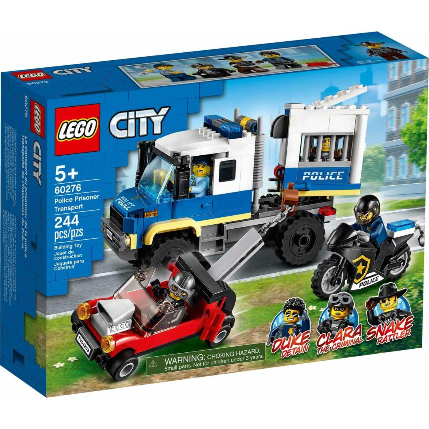 Lego City Rendőrségi rabszállító