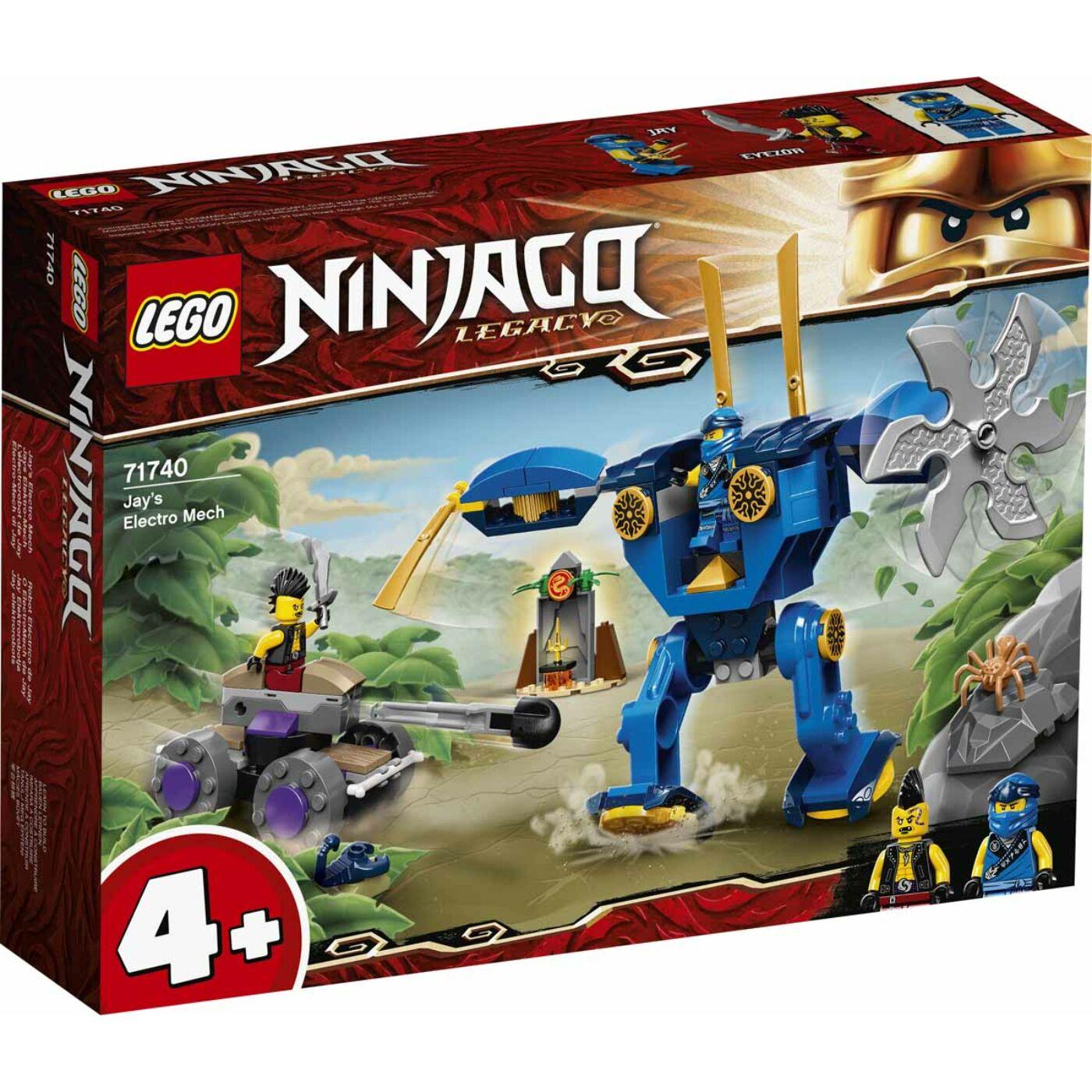 Lego Ninjago Jay Elektrorobotja