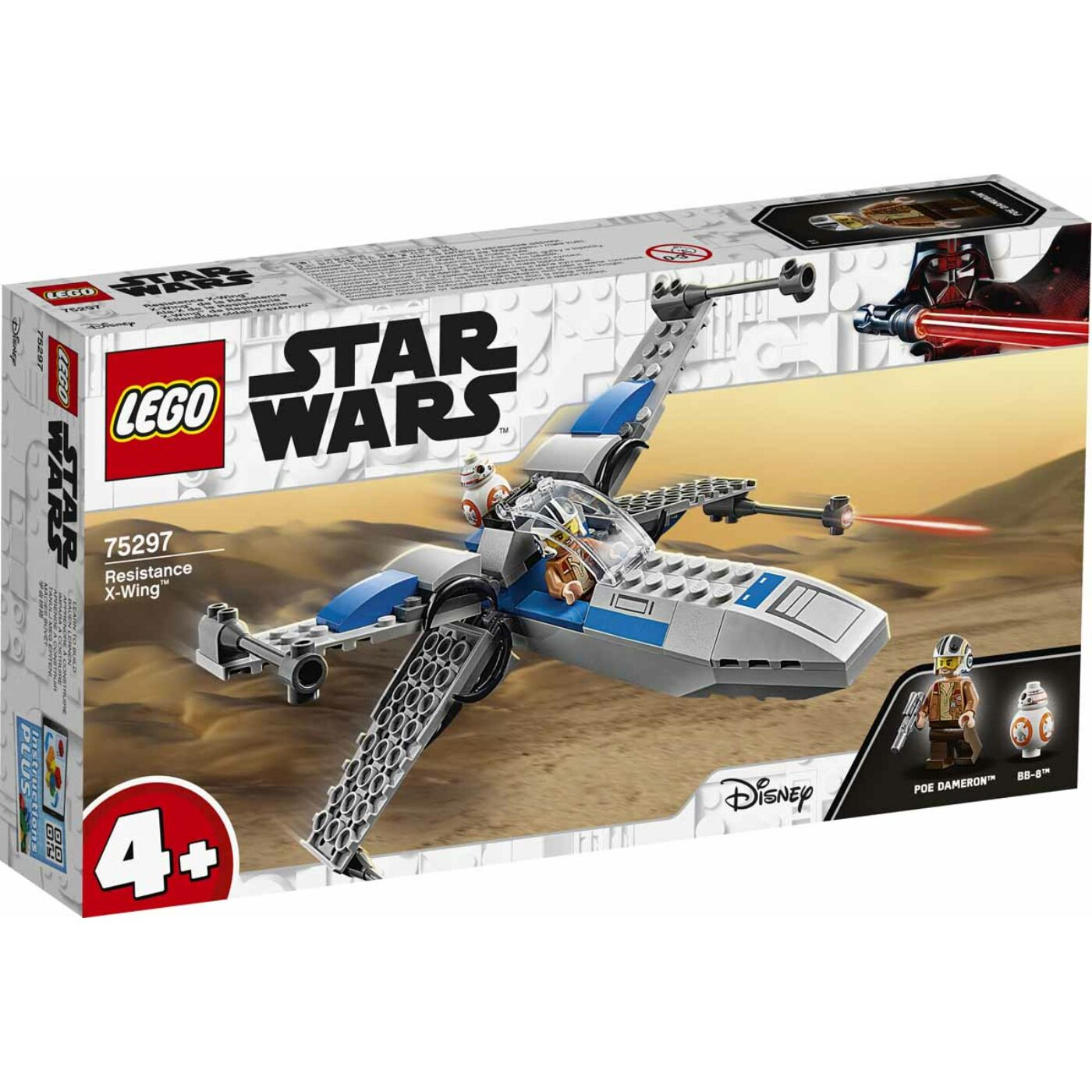 Lego Star Wars Ellenállás oldali X-szárnyú