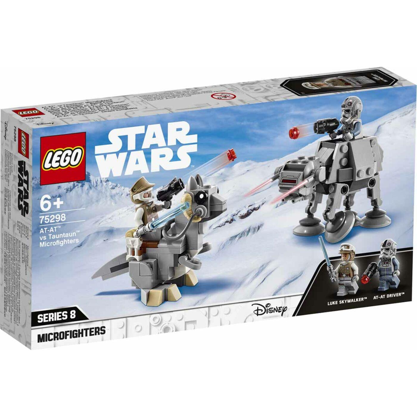 Lego Star Wars AT-AT vs Tauntaun Microfighters