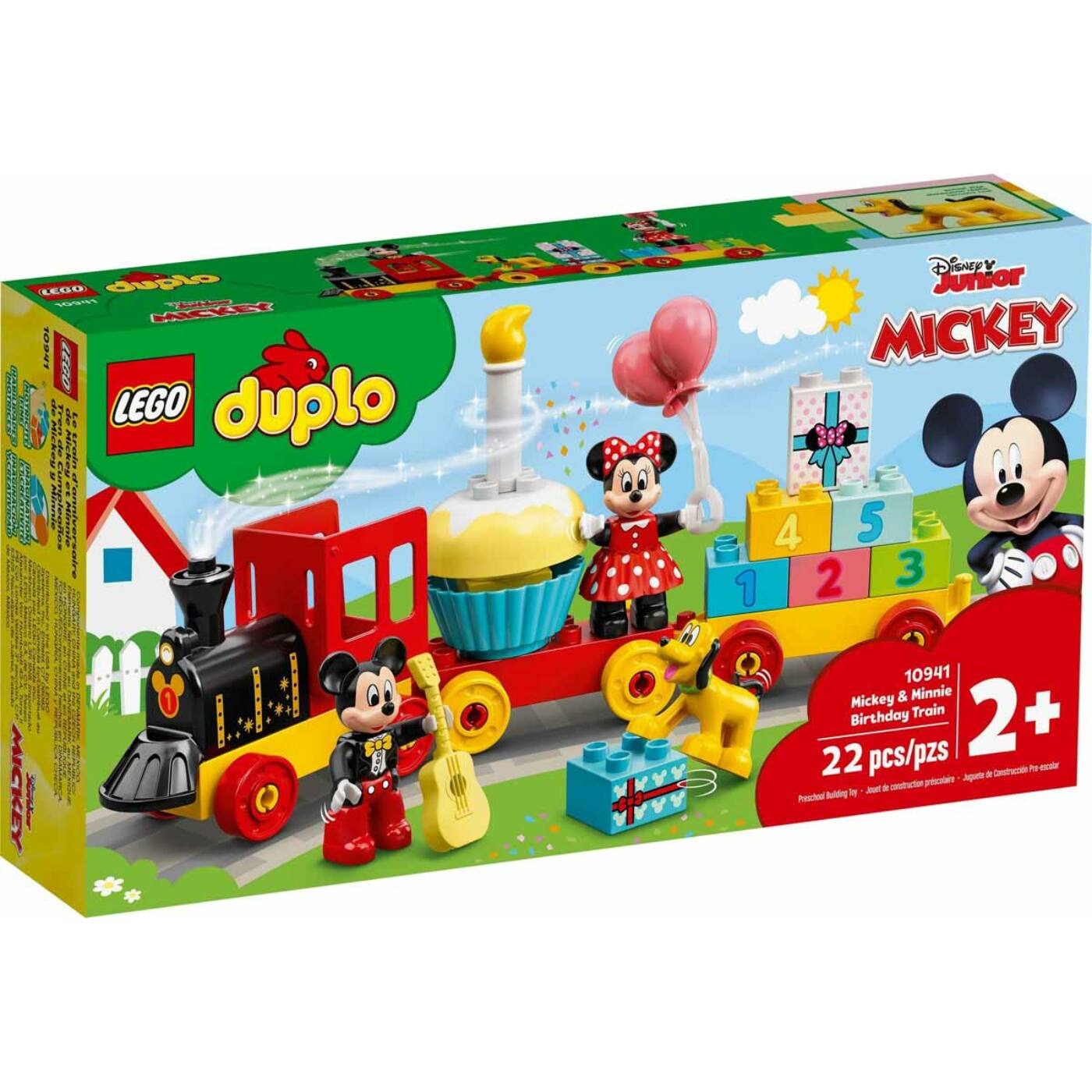 Lego Duplo Mickey és Minnie születésnapi vonata
