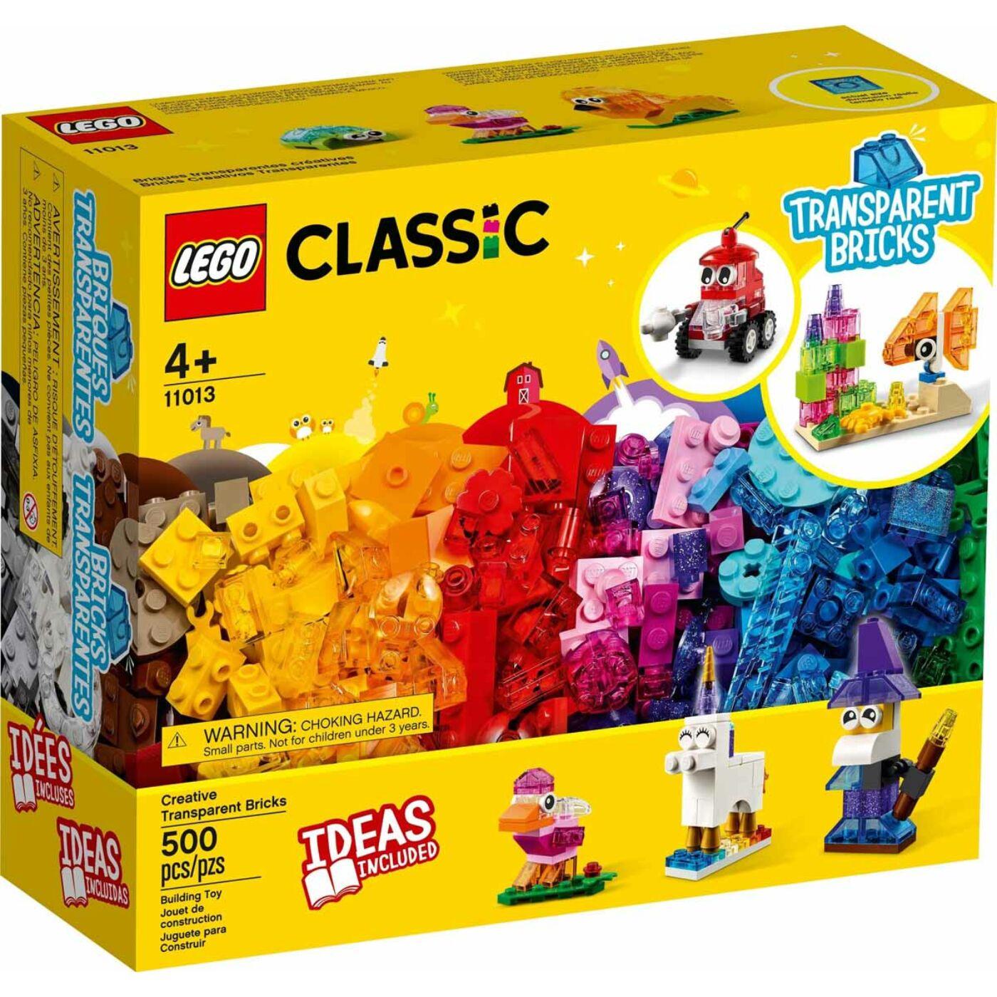 Lego Classic Kreatív áttetsző kockák