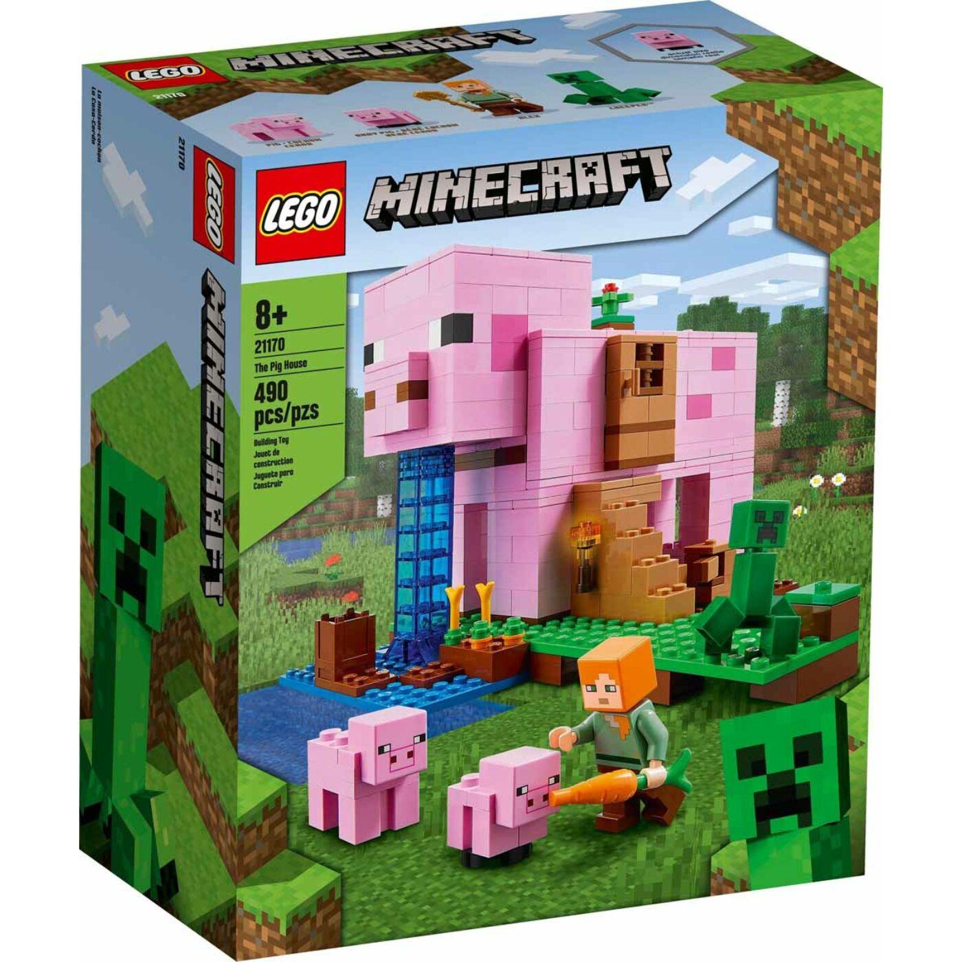 Lego Minecraft A malac háza