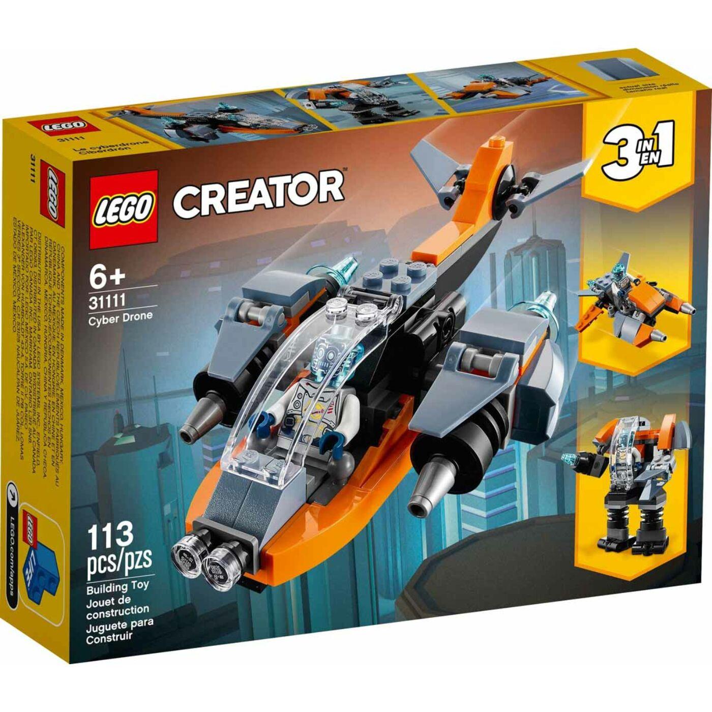 Lego Creator Kiberdrón