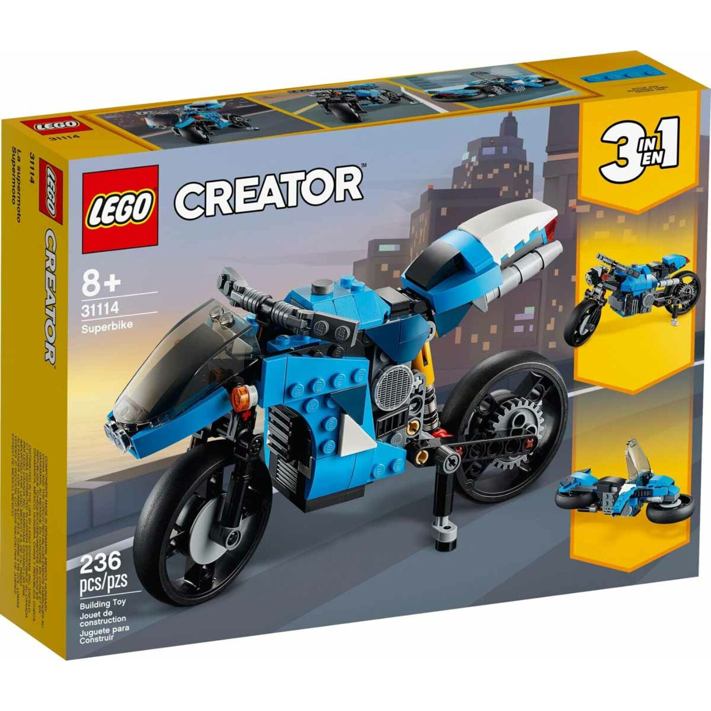 Lego Creator Szupermotor