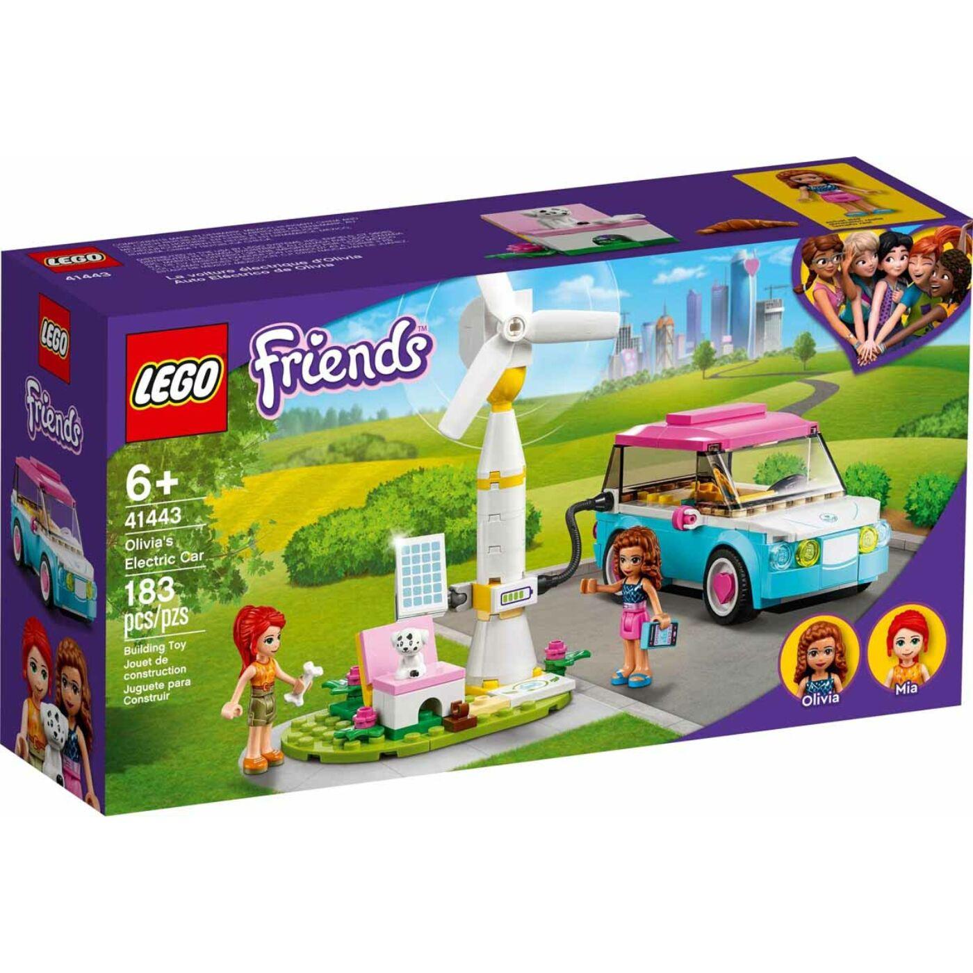 Lego Friends Olivia elektromos autója